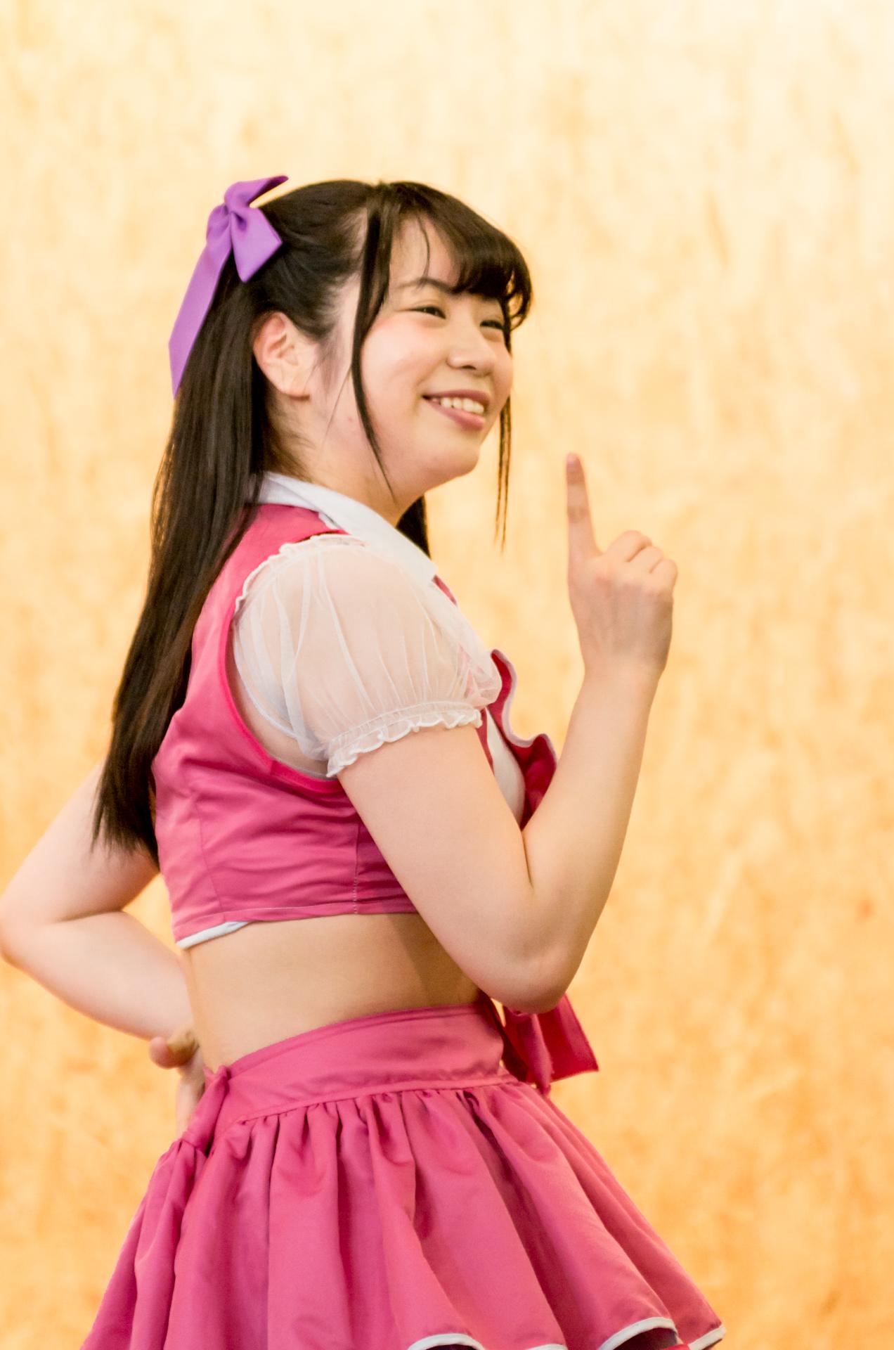 2代目HAPPY少女♪ きすみ ( 尾崎綺澄 ) | 苗の木Live&Party Vol.1