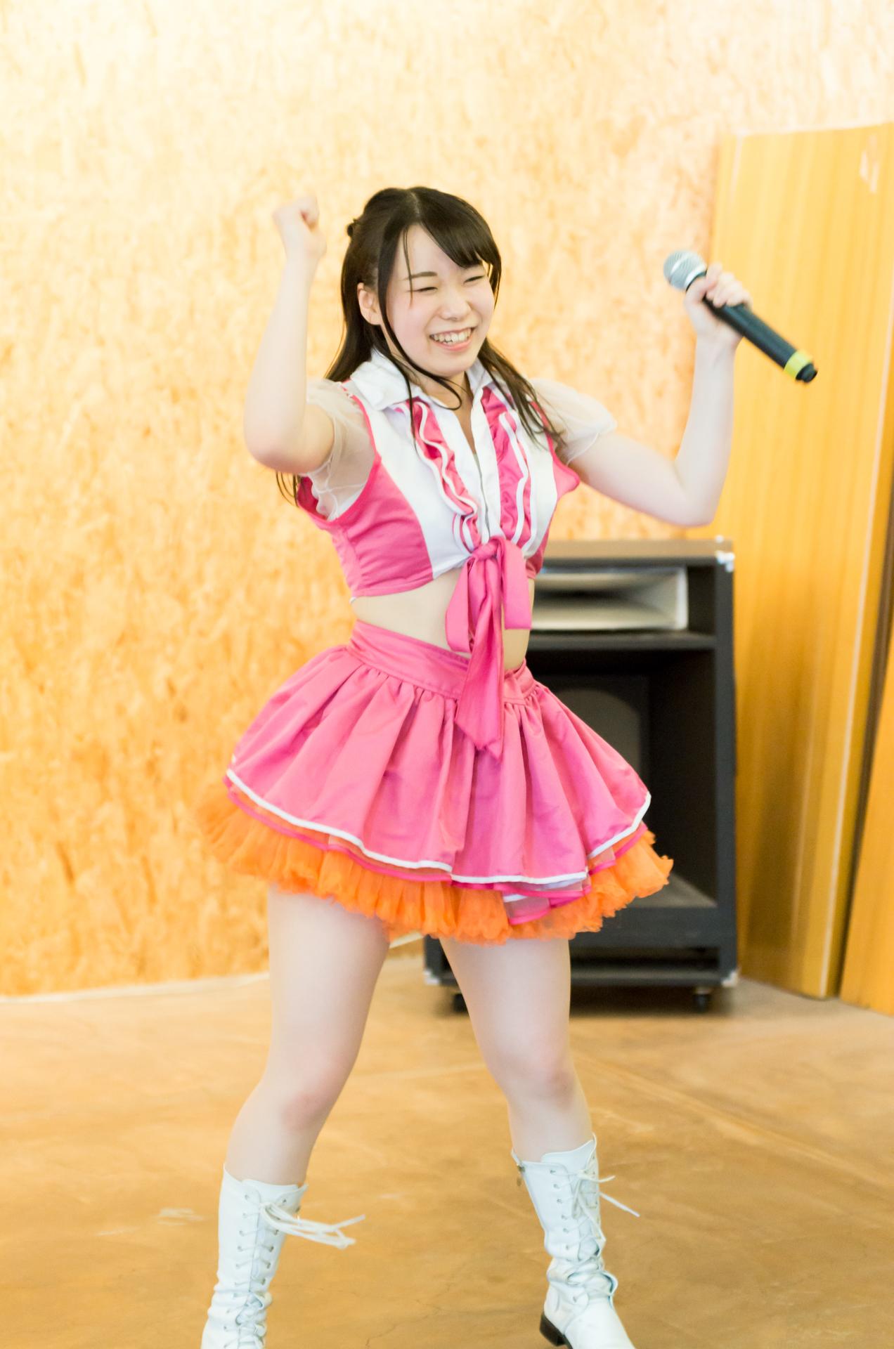 2代目HAPPY少女♪ やよたん ( 鈴木やよい ) | 苗の木Live&Party Vol.1