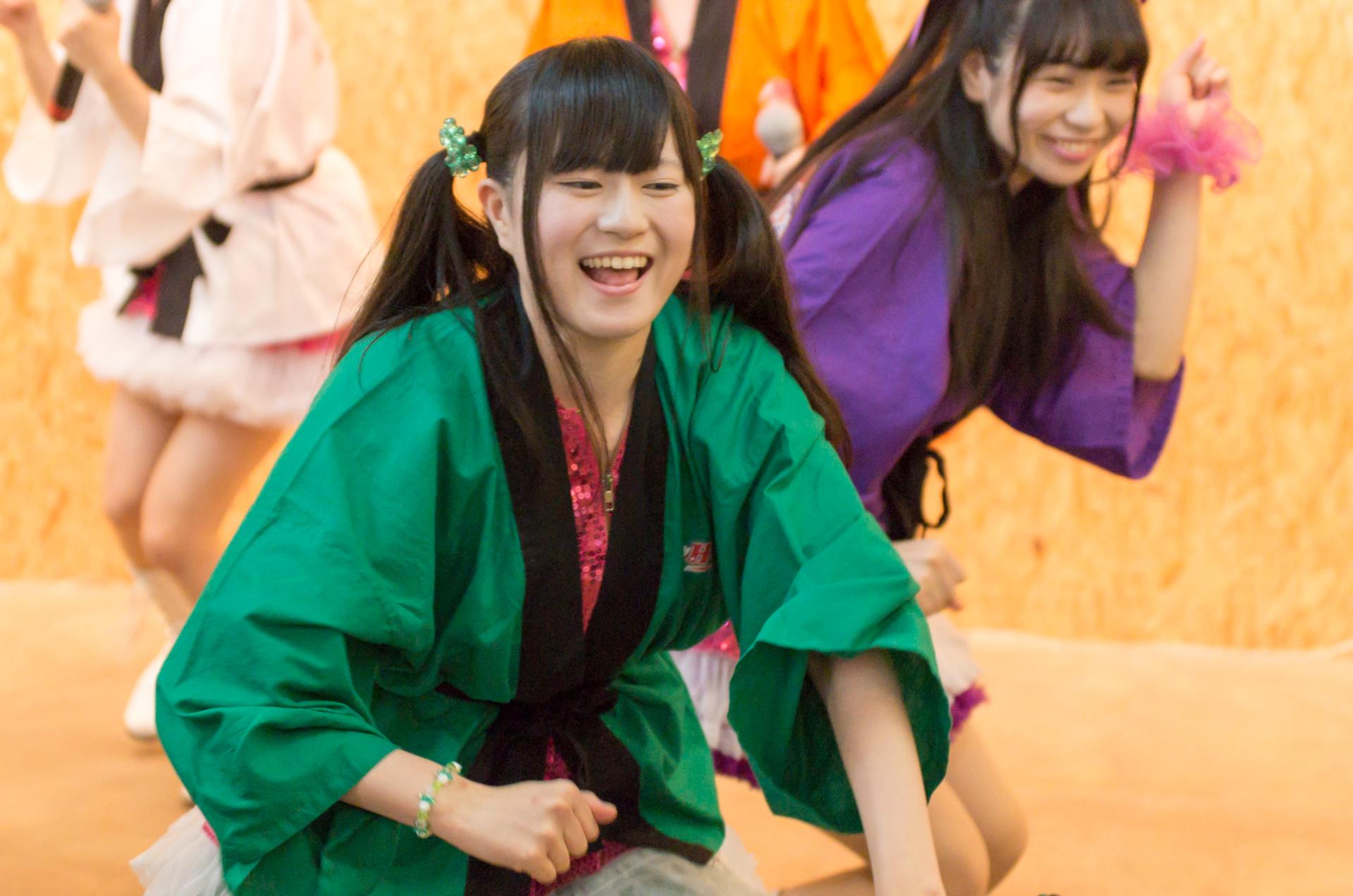 2代目Happy少女♪ あゆみ ( 新谷亜由美 )   苗の木Live&Party Vol.2