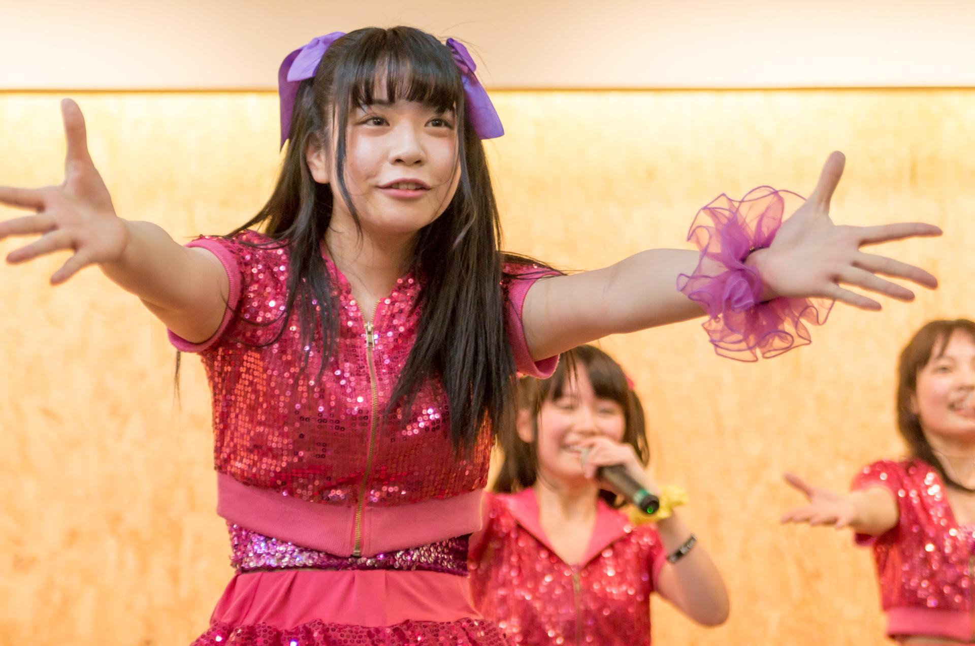 2代目Happy少女♪ きすみ ( 尾崎綺澄 ) | 苗の木Live&Party Vol.2