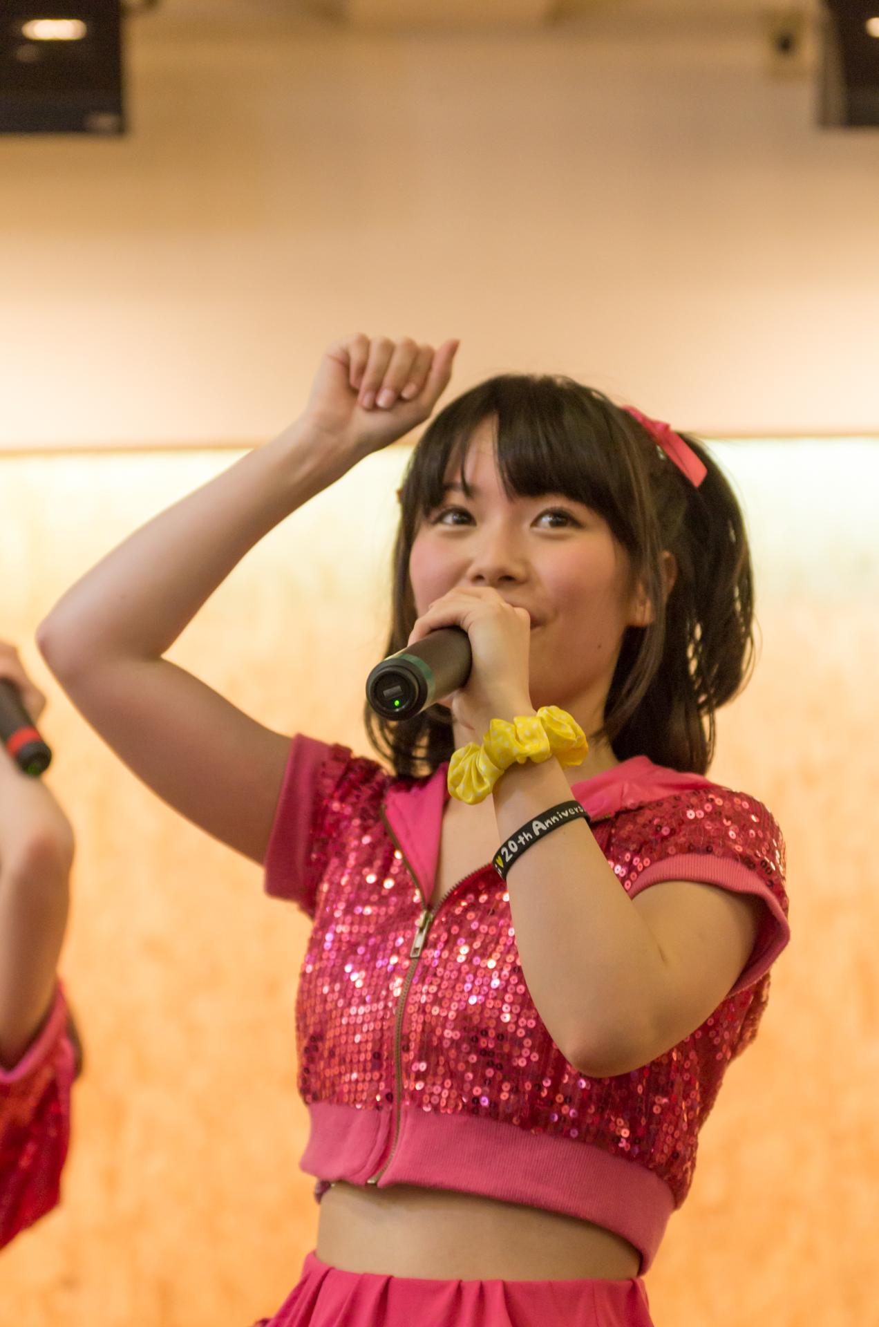 2代目Happy少女♪ みっちょ ( 本田みく ) | 苗の木Live&Party Vol.2