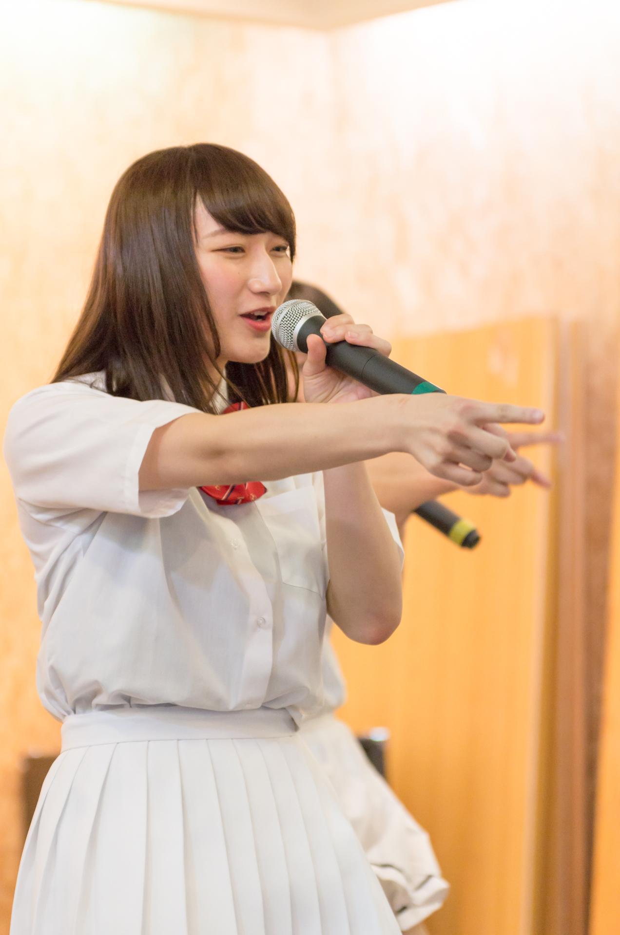 Teamくれれっ娘! 信野樹奈 | 苗の木Live&Party Vol.2