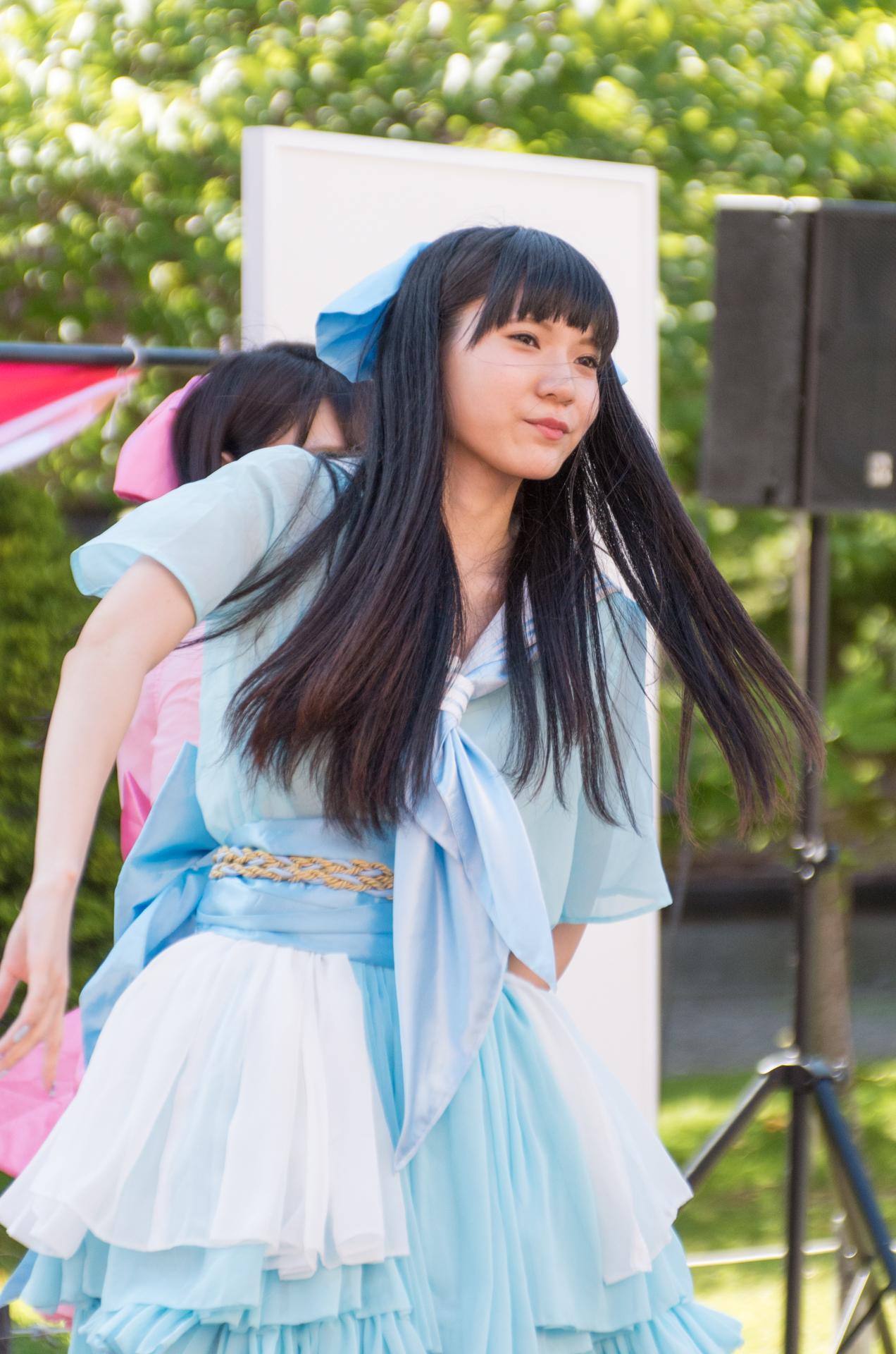 撫子団 夏目さん ( 夏目有莉 ) | アリオ札幌野外ライブ
