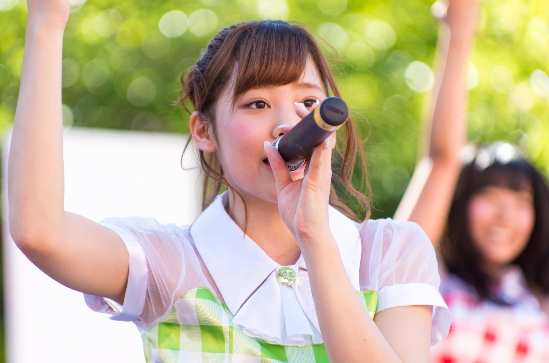 フルーティー♡ くるみ ( 原くるみ )   アリオ札幌野外ライブ