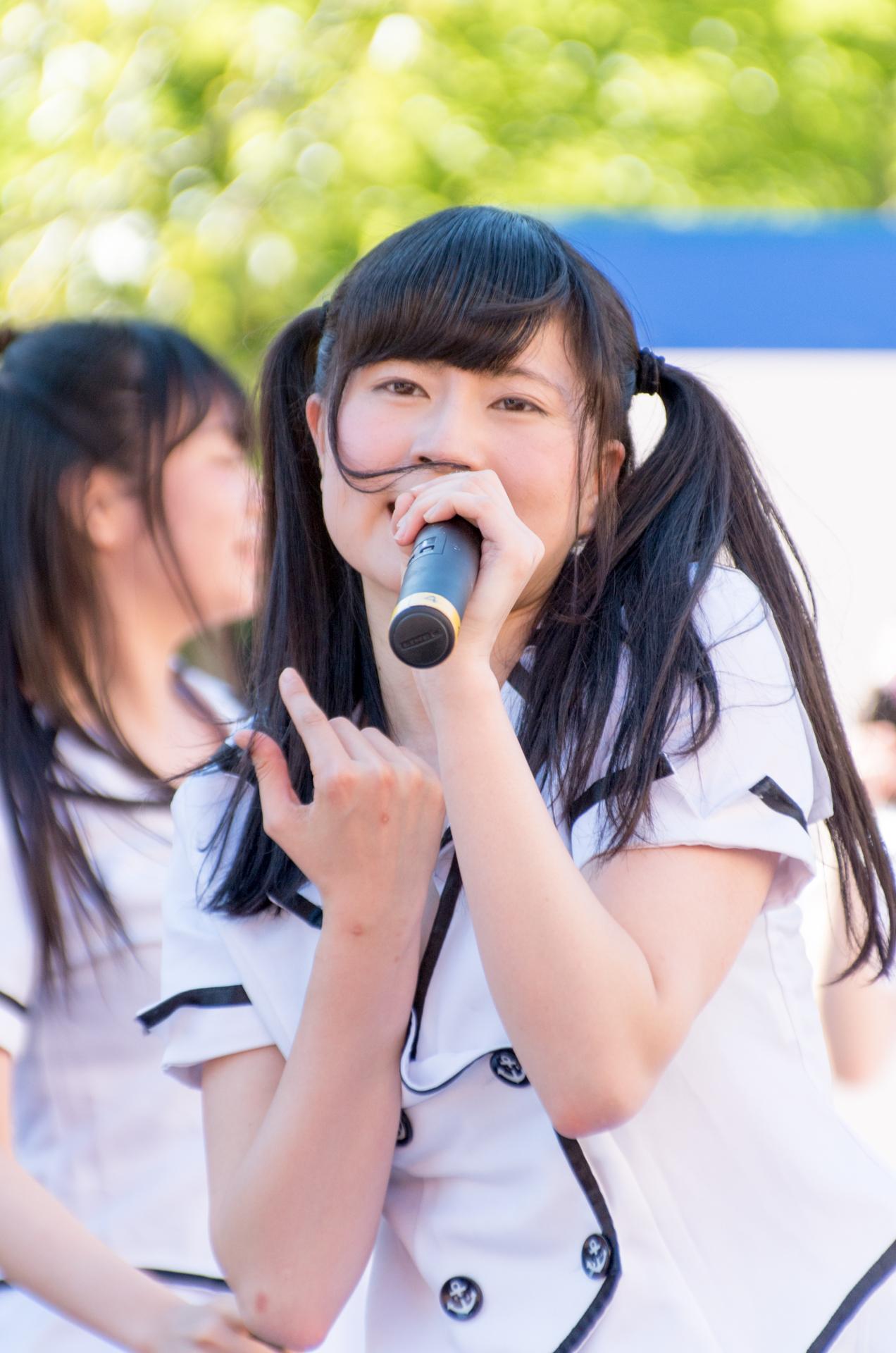 2代目HAPPY少女♪ あゆみ ( 新谷亜由美 ) | アリオ札幌野外ライブ