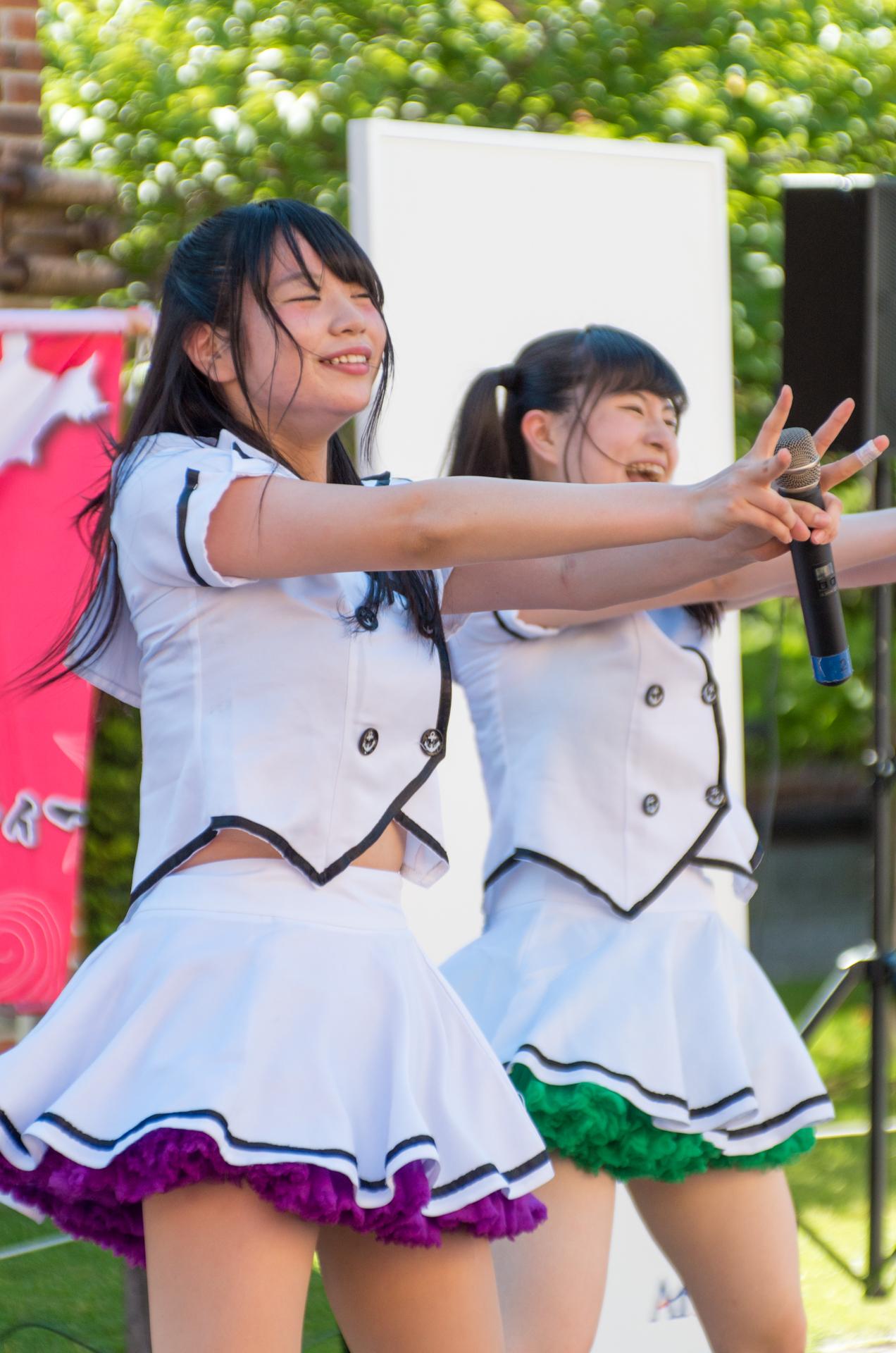 2代目HAPPY少女♪ きすみ ( 尾崎綺澄 ) | アリオ札幌野外ライブ