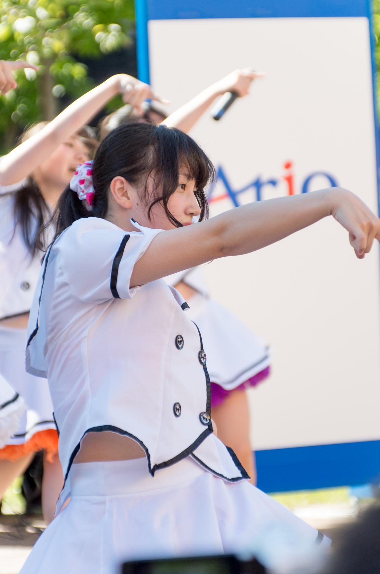 2代目HAPPY少女♪ きょうか ( 山田京佳 ) | アリオ札幌野外ライブ