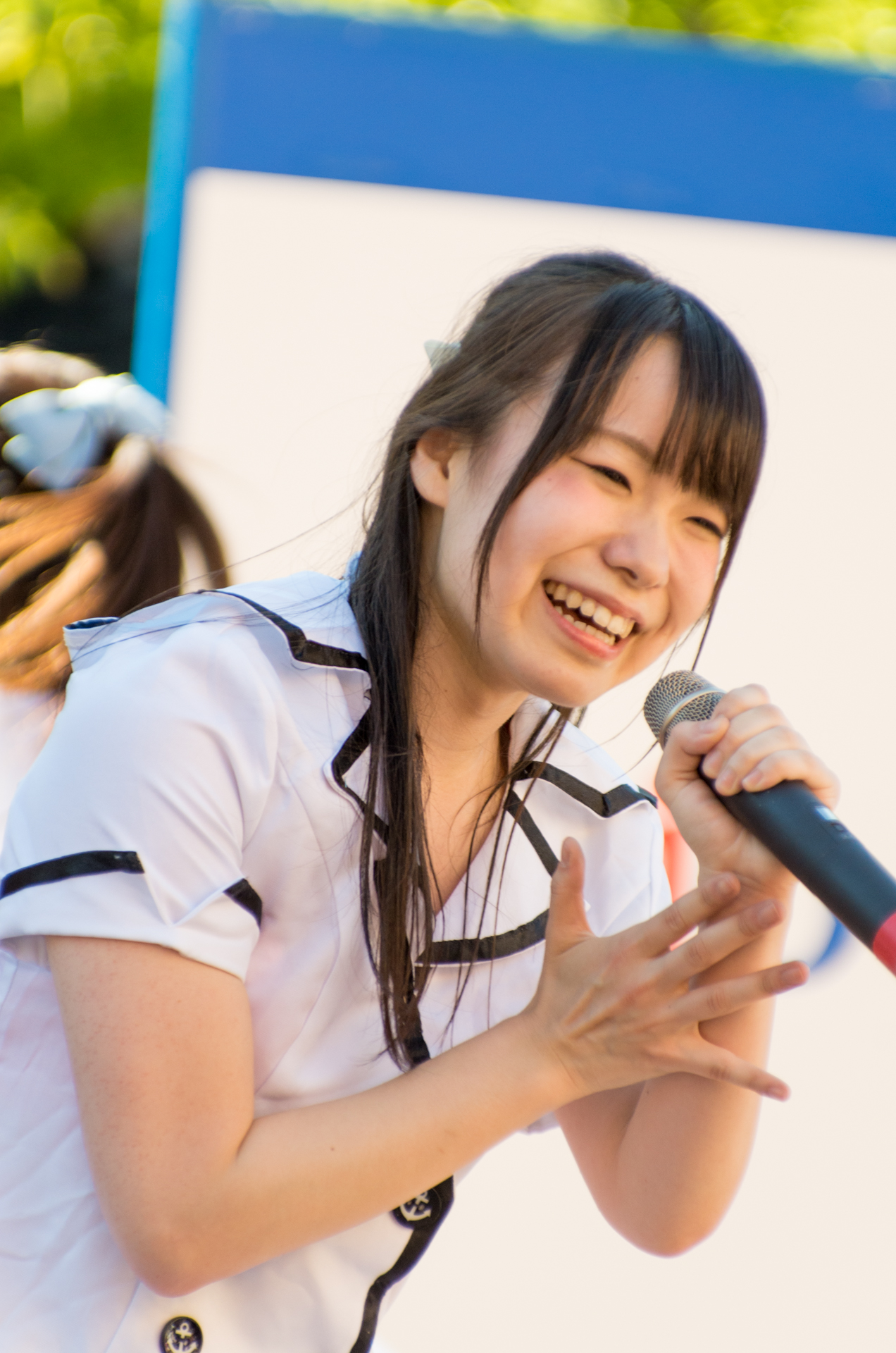 2代目HAPPY少女♪ やよたん ( 鈴木やよい ) | アリオ札幌野外ライブ