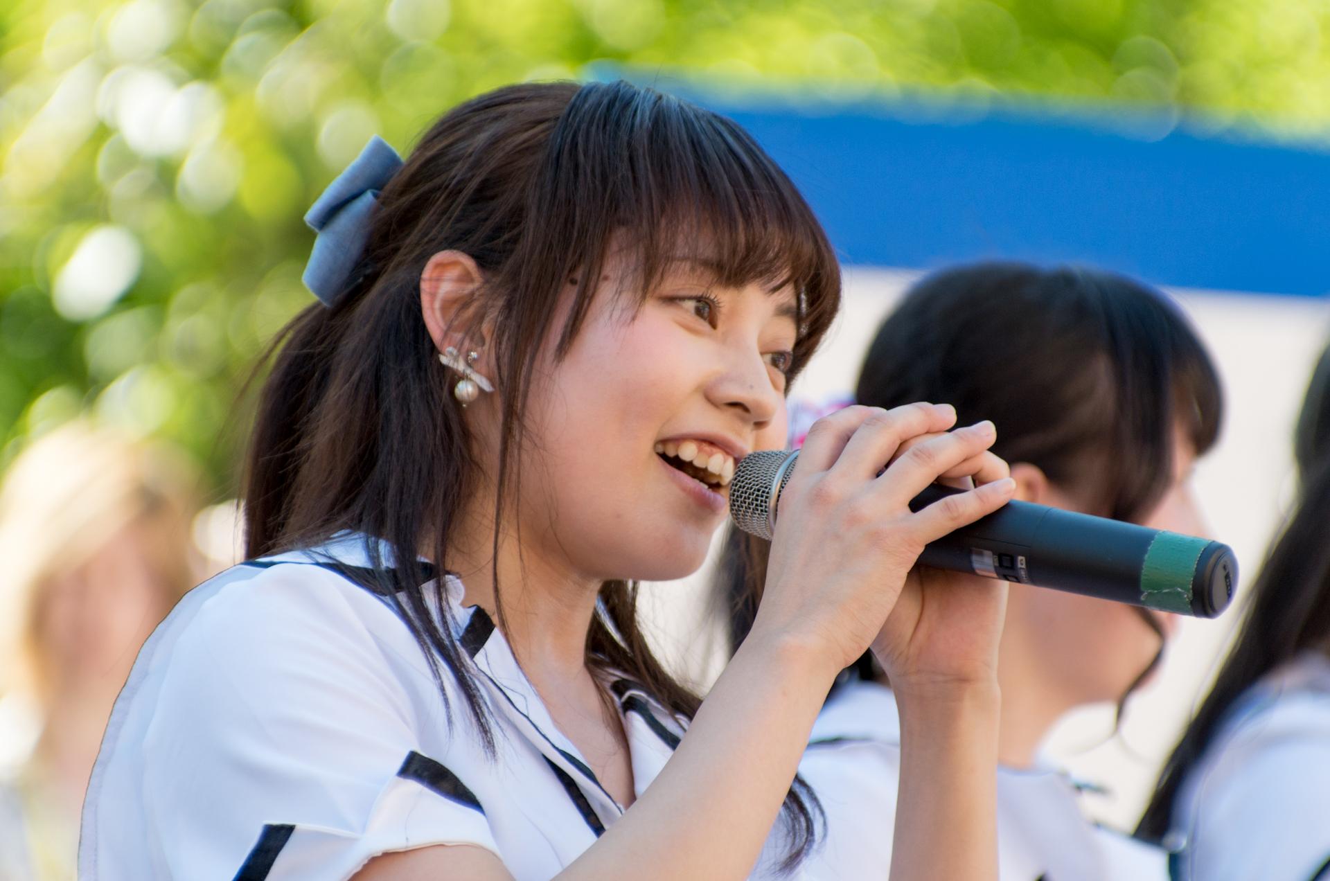2代目HAPPY少女♪ ゆいな ( 宮崎ゆいな ) | アリオ札幌野外ライブ