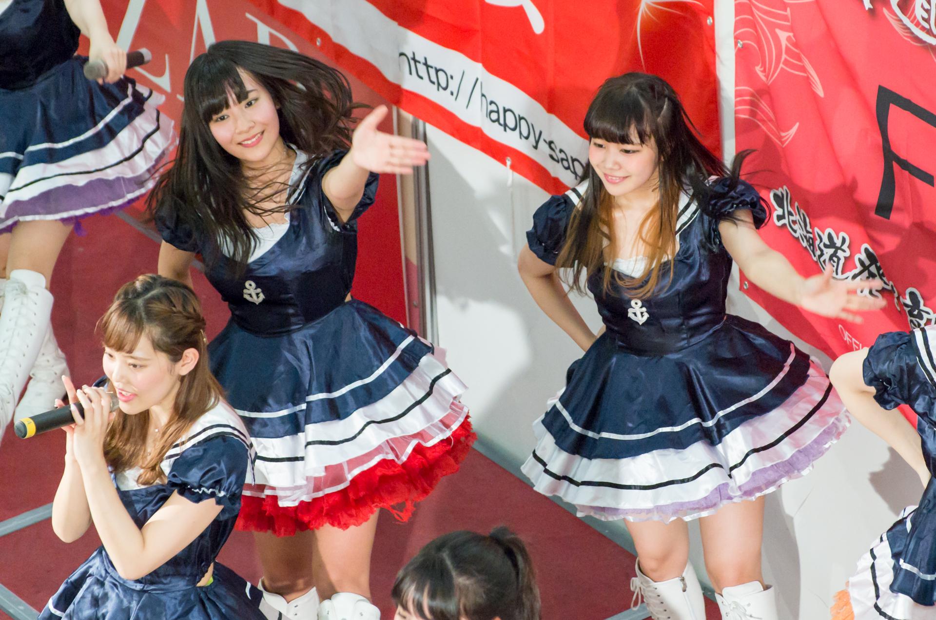 フルーティー♡ こりな ( 松本りな )   アリオ札幌ライブプロマンスリーライブ