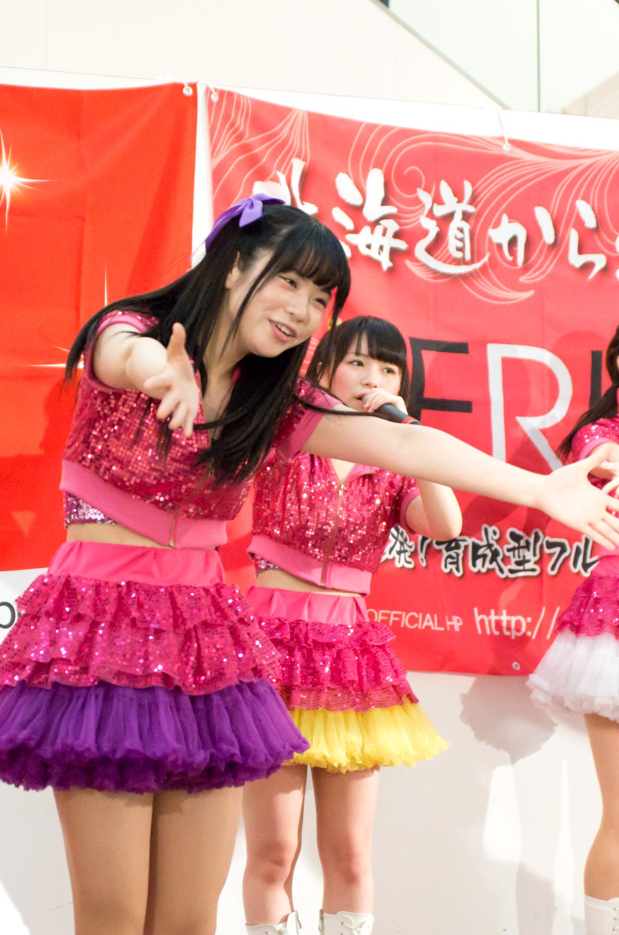 2代目Happy少女♪ きすみ ( 尾崎綺澄 ) | アリオ札幌ライブプロマンスリーライブ