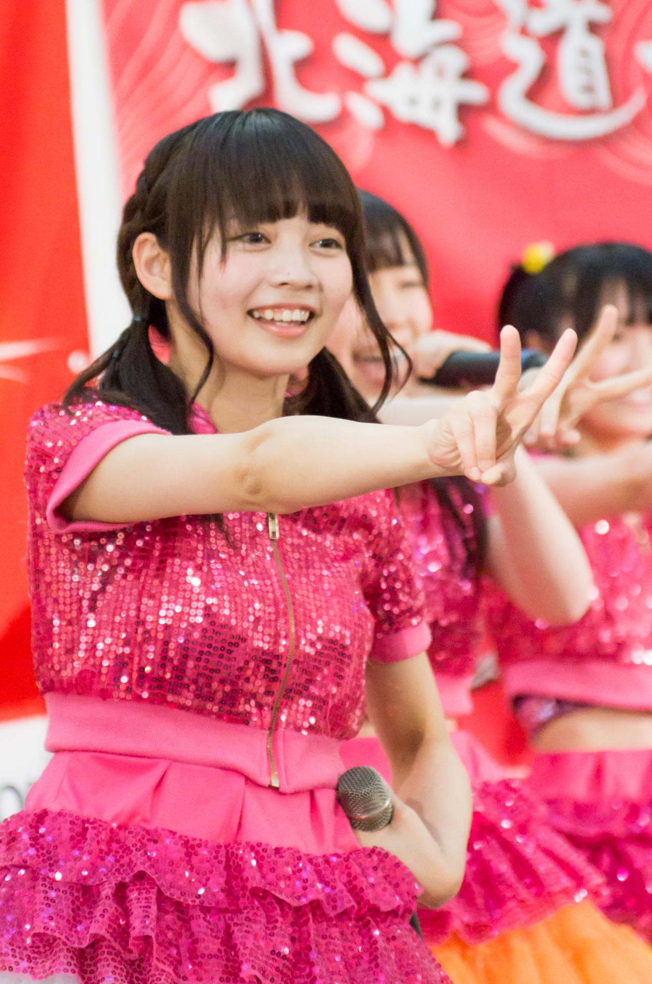 2代目Happy少女♪ ゆいな ( 宮崎ゆいな ) | アリオ札幌ライブプロマンスリーライブ