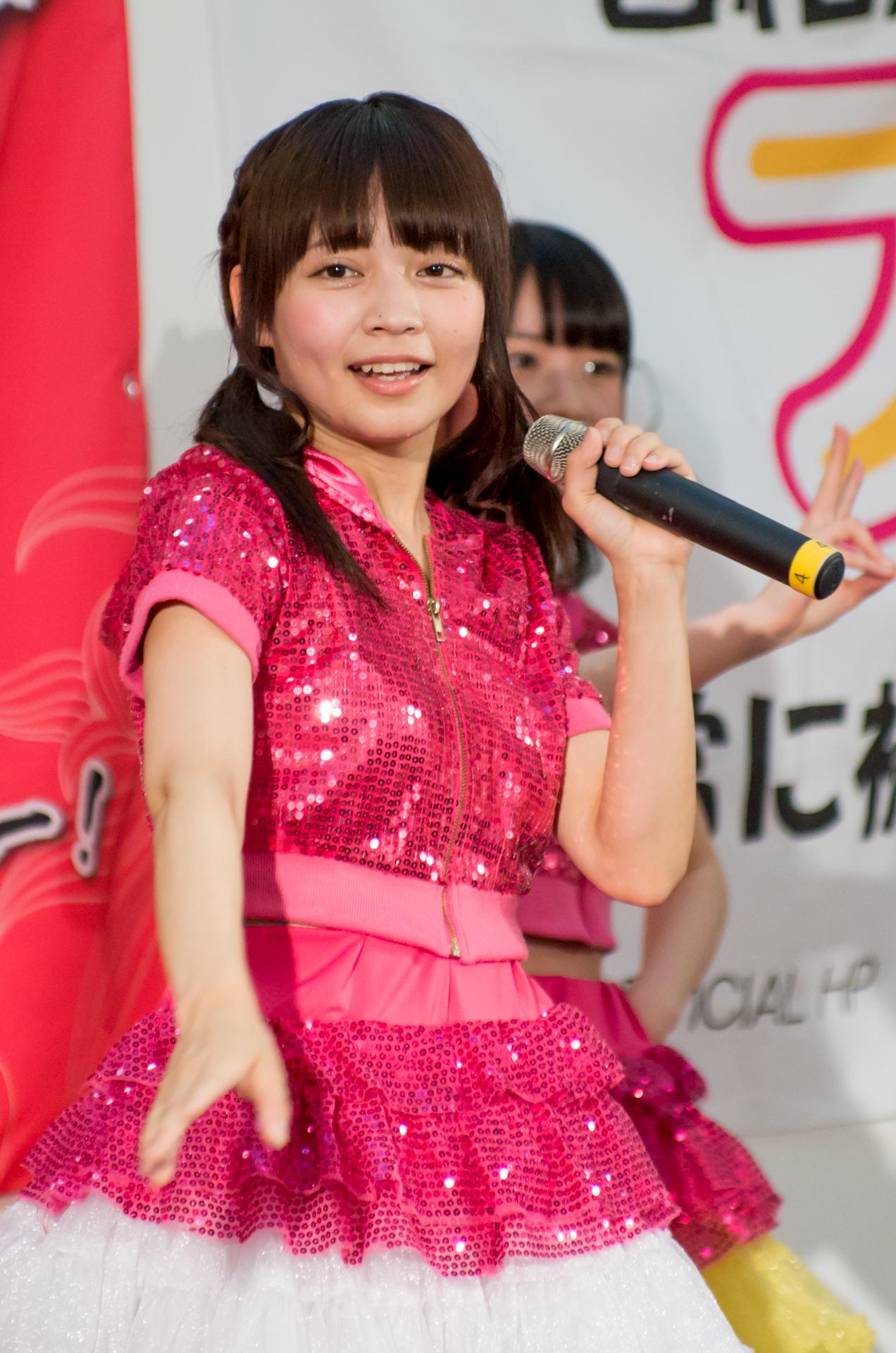 2代目Happy少女♪ ゆいな ( 宮崎ゆいな )   アリオ札幌ライブプロマンスリーライブ