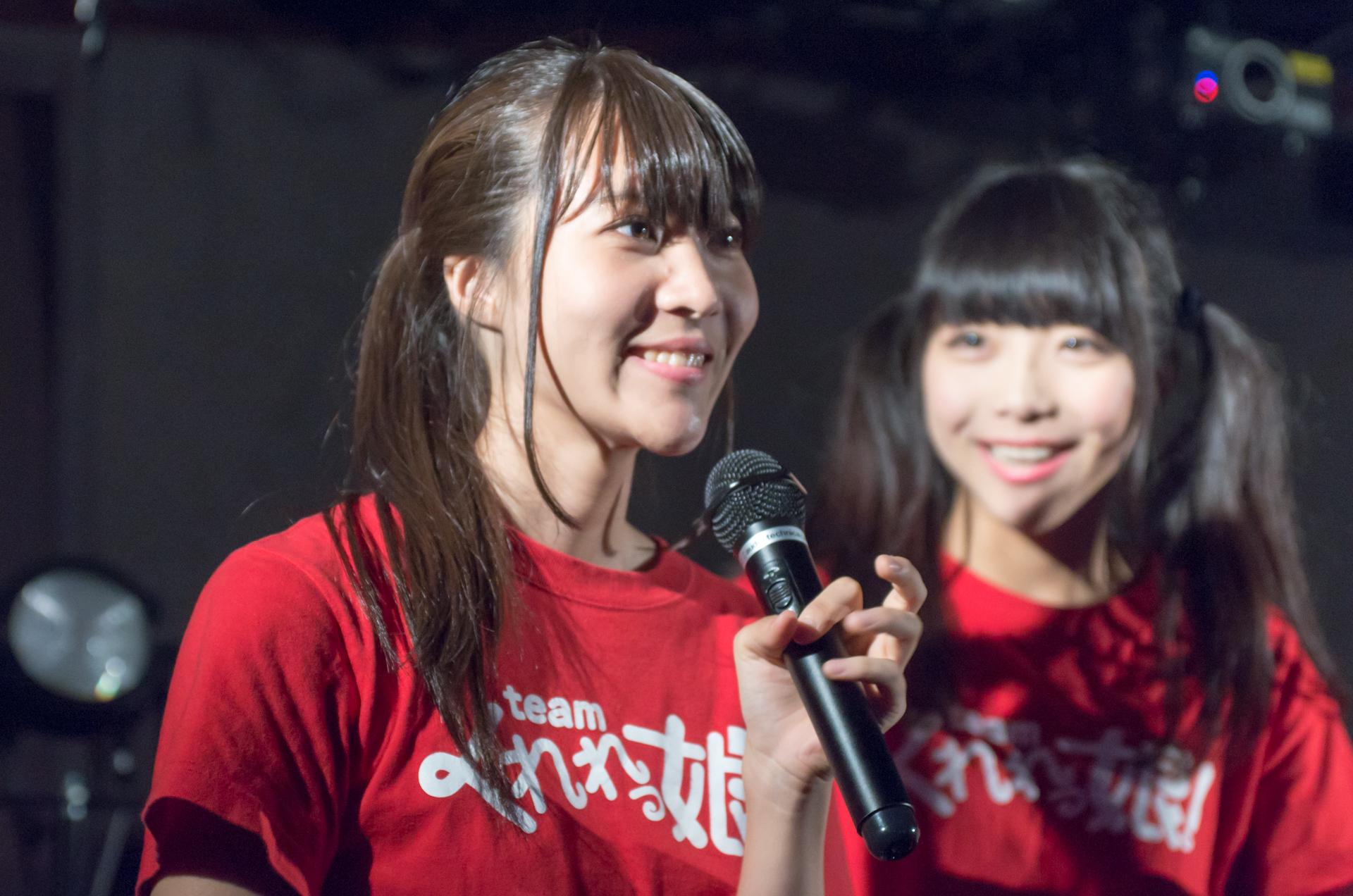 Teamくれれっ娘! 藤元志帆 | 苗の木Live vol.4~夏祭り~