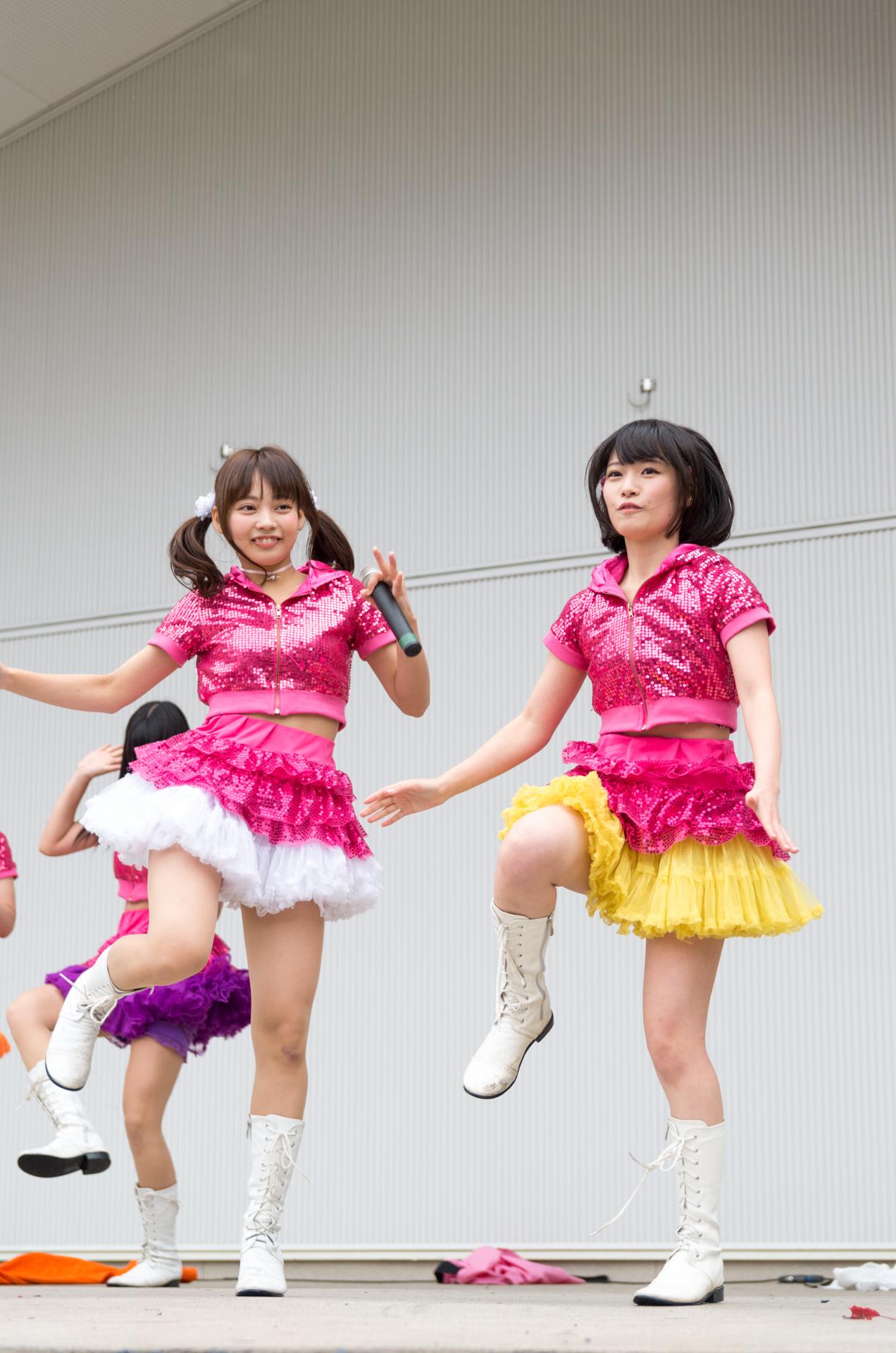 2代目HAPPY少女 宮崎ゆいな & 本田みく