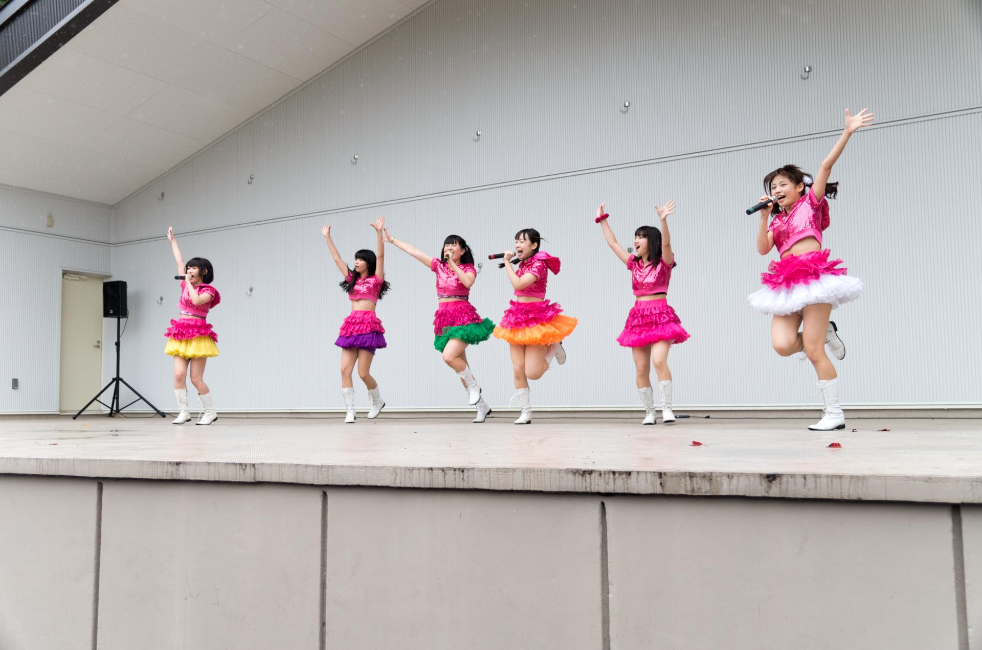 2代目HAPPY少女♪ | アイドルライブ in 円山動物園