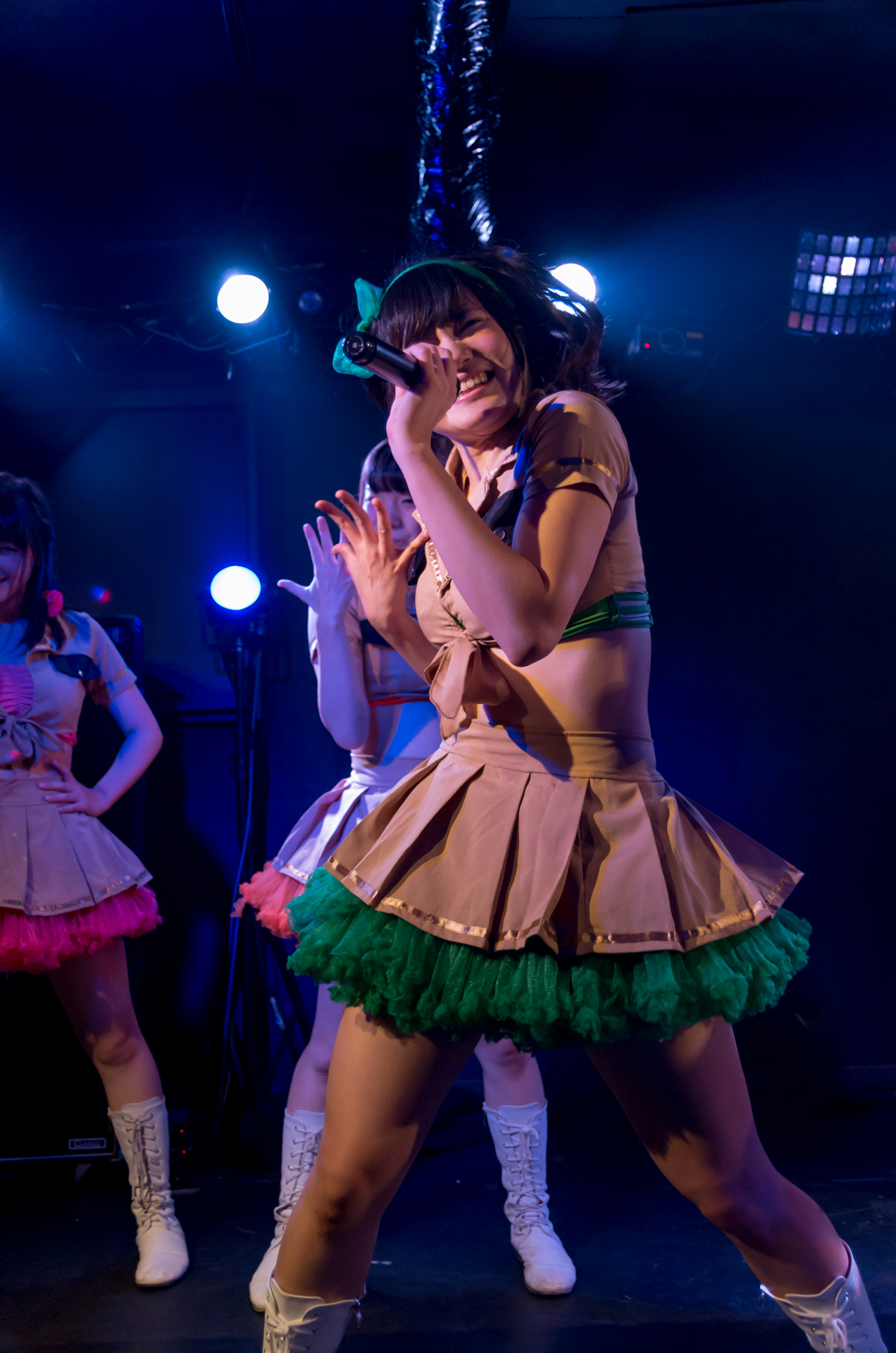 2代目HAPPY少女♪ あゆみ ( 新谷亜由美 )   苗の木Live Vol.5~秋の大収穫祭~