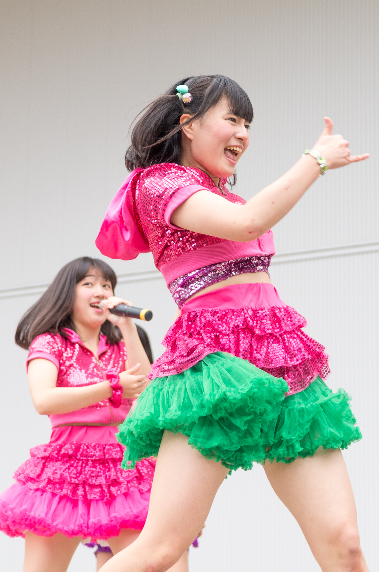 2代目HAPPY少女♪ あゆみ ( 新谷亜由美 )   アイドルライブ in 円山動物園
