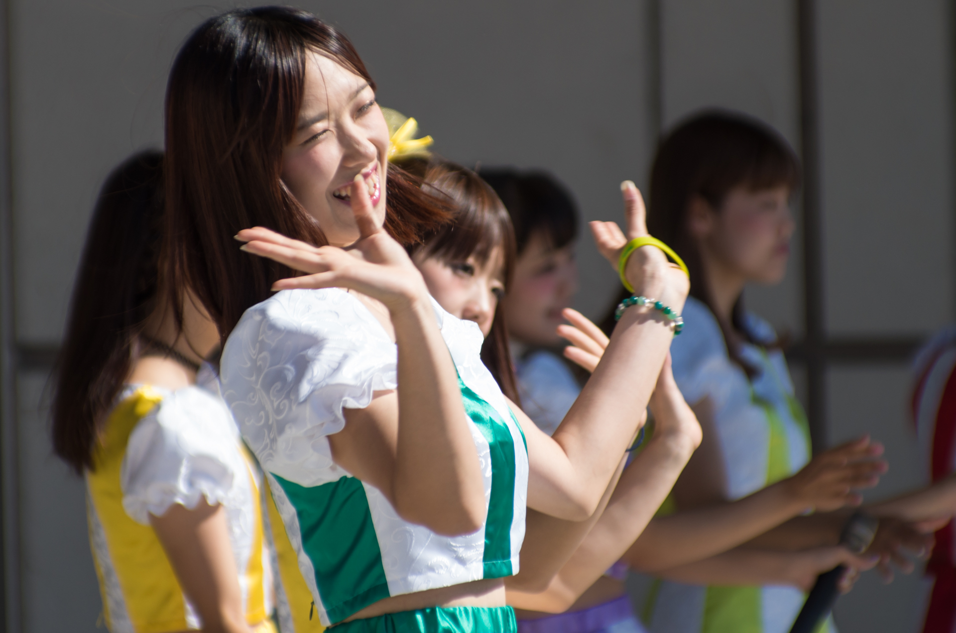 フルーティー♡ おばち ( 小原優花 ) | くりさわ農業祭
