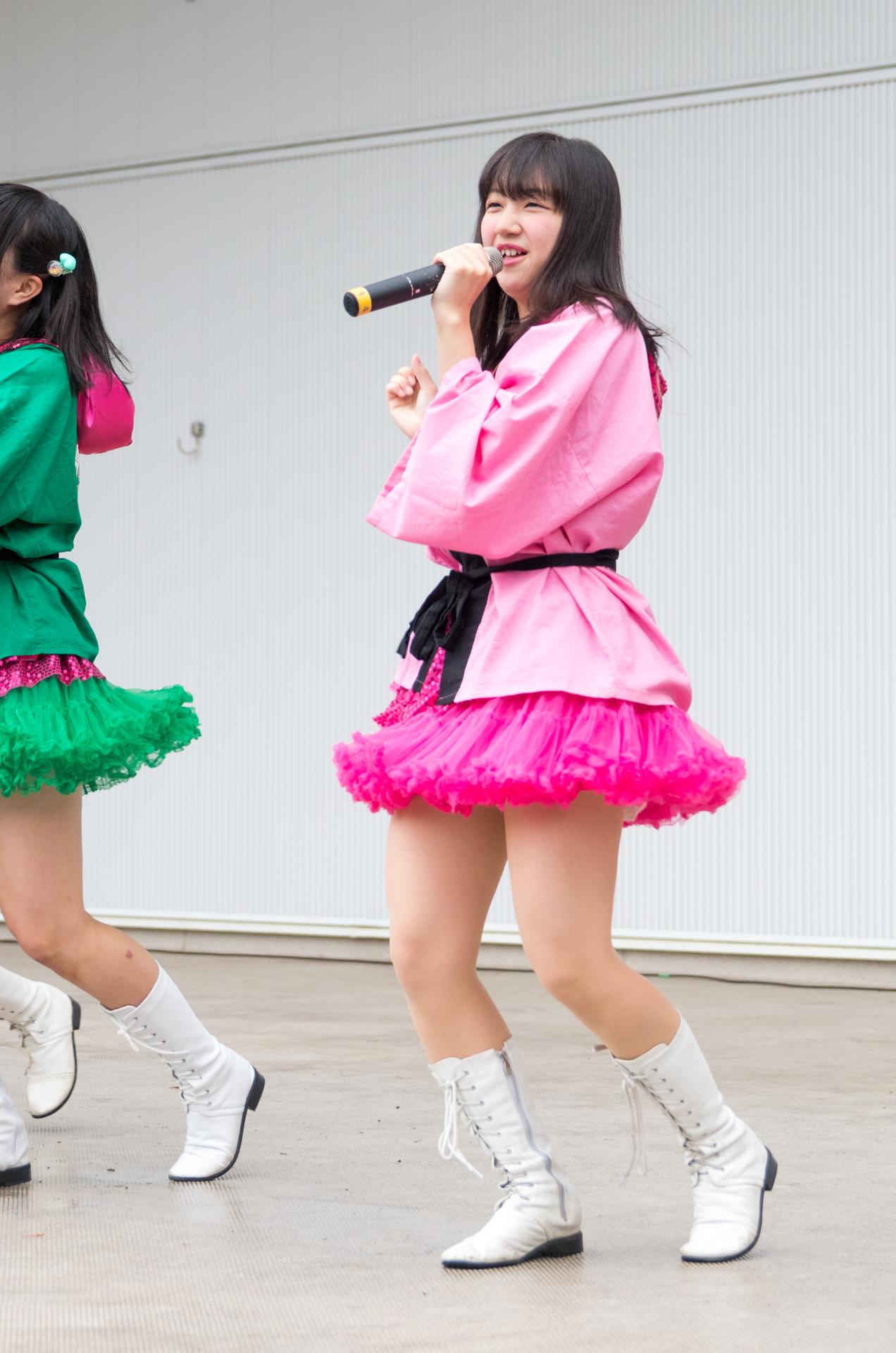 2代目HAPPY少女♪ きょうか ( 山田京佳 ) | アイドルライブ in 円山動物園