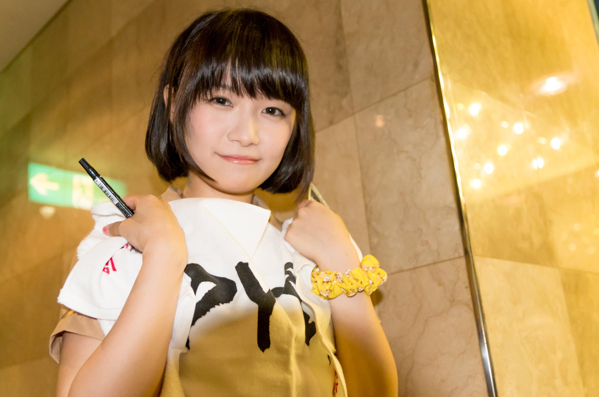 2代目HAPPY少女♪ みっちょ ( 本田みく ) | 苗の木Live Vol.5~秋の大収穫祭~