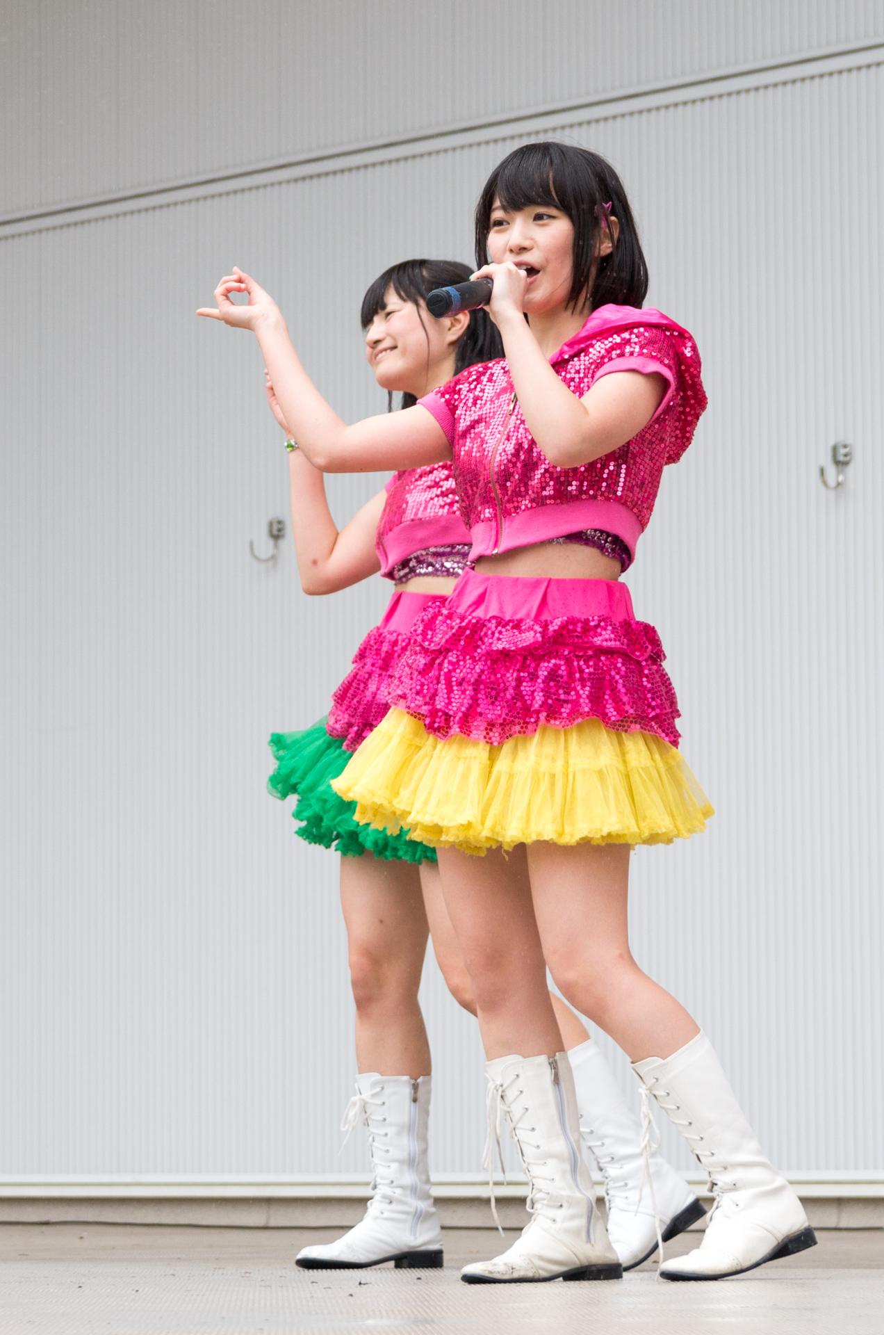 2代目HAPPY少女♪ みっちょ ( 本田みく ) | アイドルライブ in 円山動物園