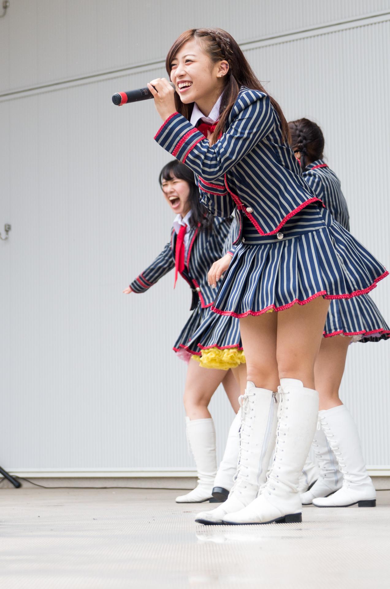 フルーティー♡ さい ( 北出彩 )   アイドルライブ in 円山動物園