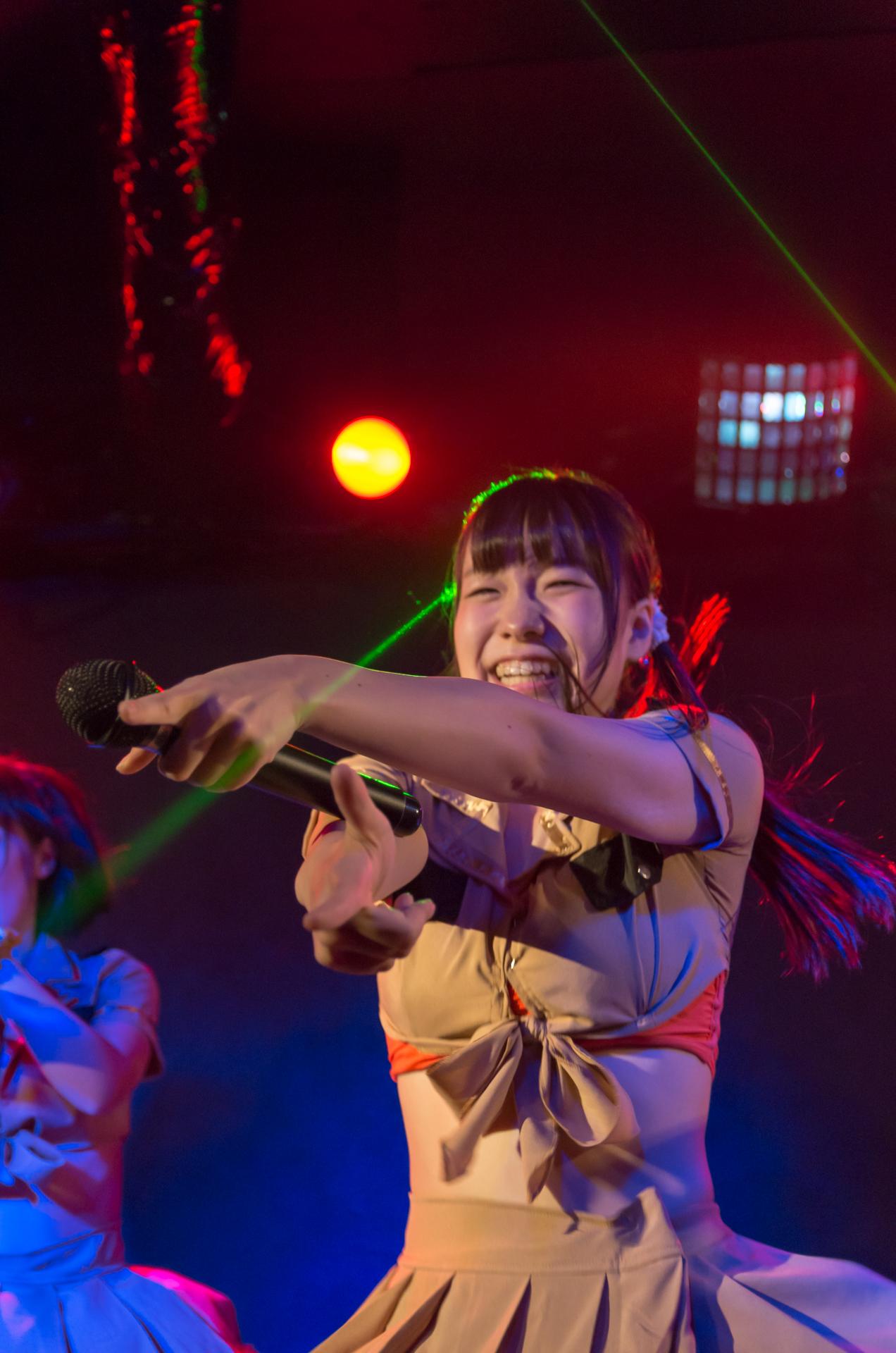 2代目HAPPY少女♪ やよたん ( 鈴木やよい )   苗の木Live Vol.5~秋の大収穫祭~