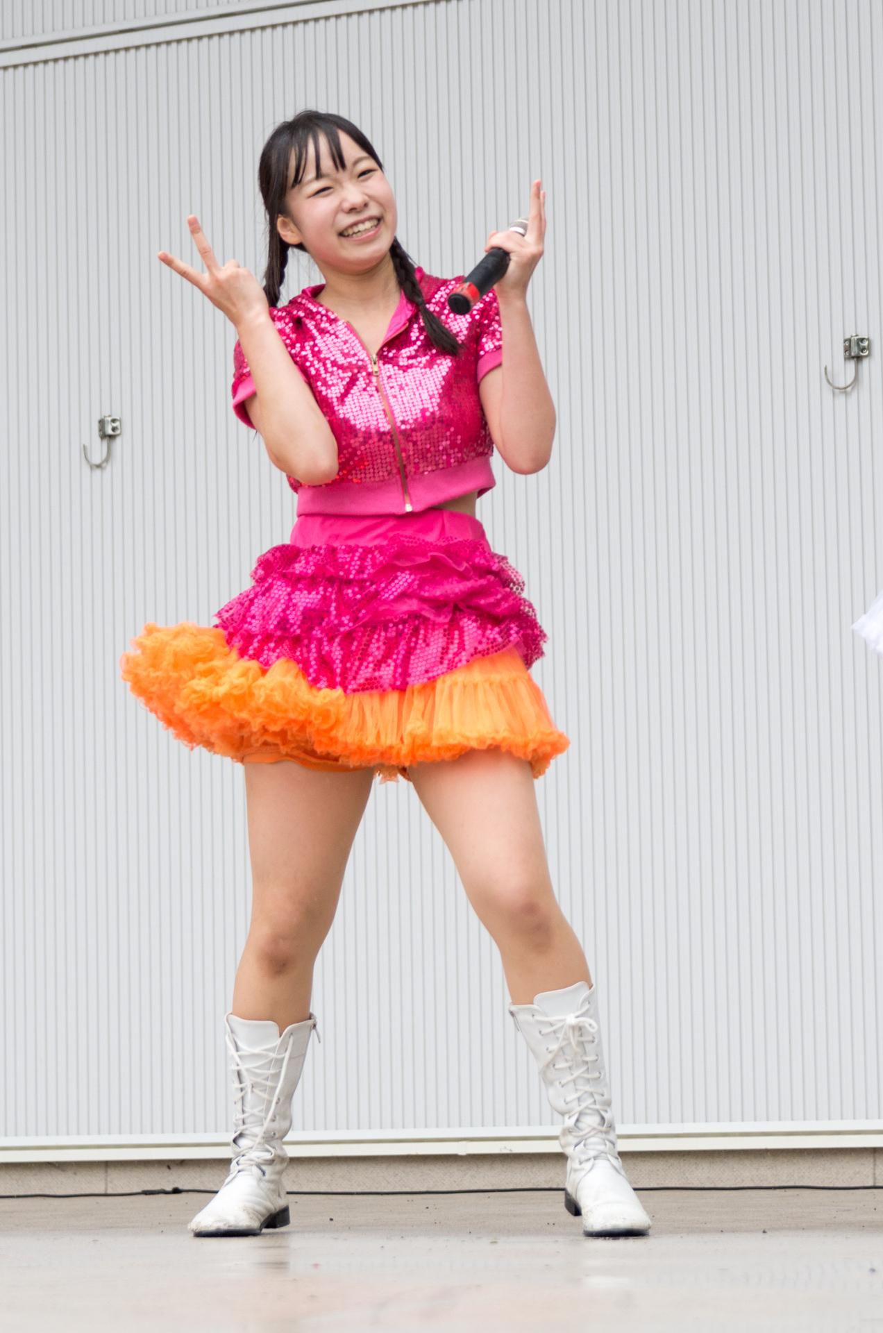 2代目HAPPY少女♪ やよたん ( 鈴木やよい ) | アイドルライブ in 円山動物園