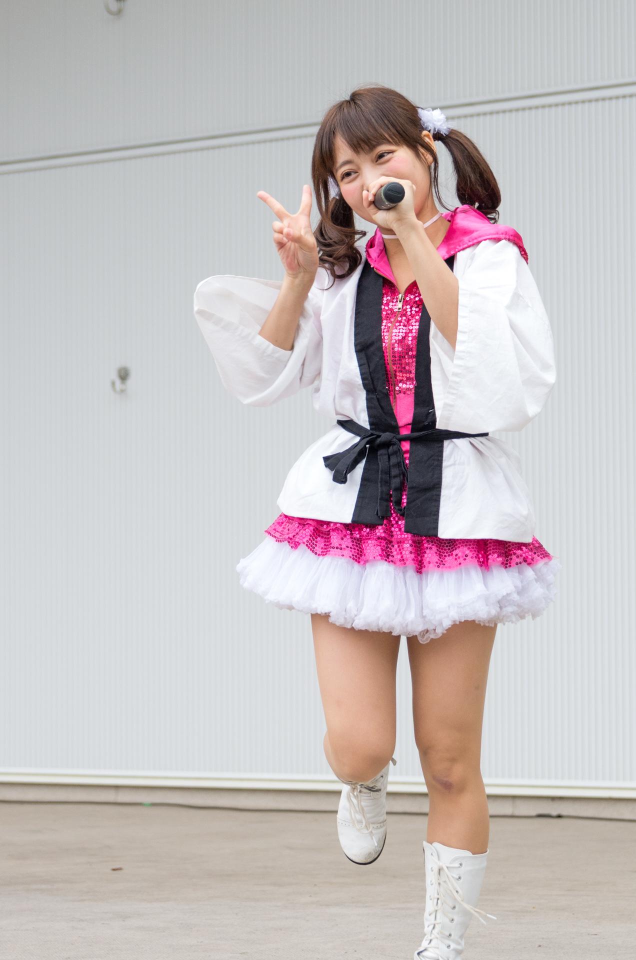2代目HAPPY少女♪ ゆいな ( 宮崎ゆいな ) | アイドルライブ in 円山動物園