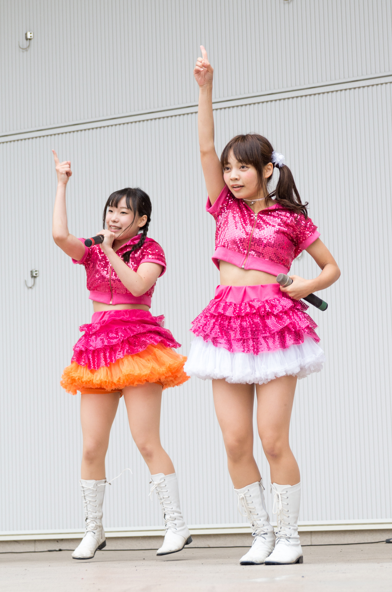 2代目HAPPY少女 鈴木やよい & 宮崎ゆいな
