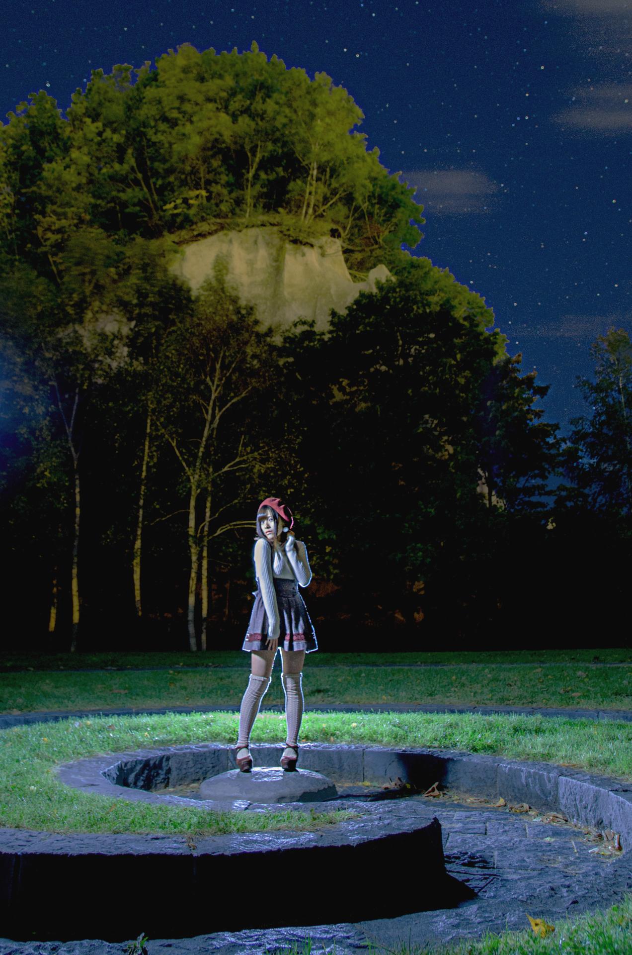 chiaki | 夜景ポートレートにチャレンジ