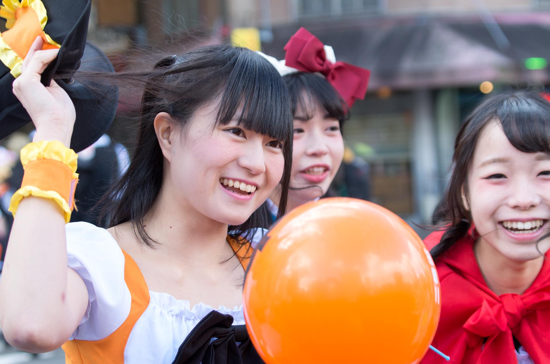 2代目HAPPY少女♪ あゆみ ( 新谷亜由美 ) | さっぽろハロウィン2016