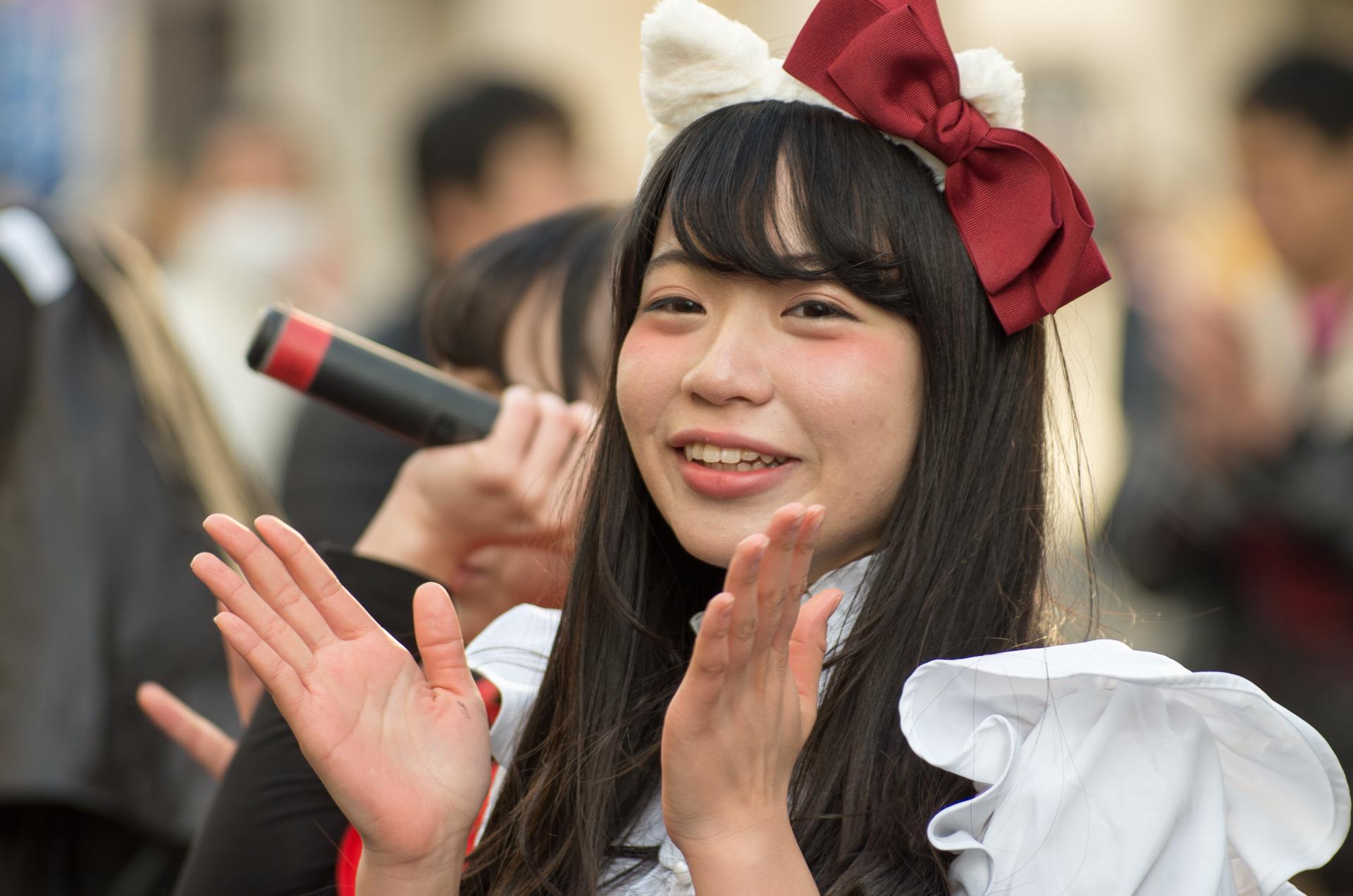 2代目HAPPY少女 きすみ ( 尾崎綺澄 )