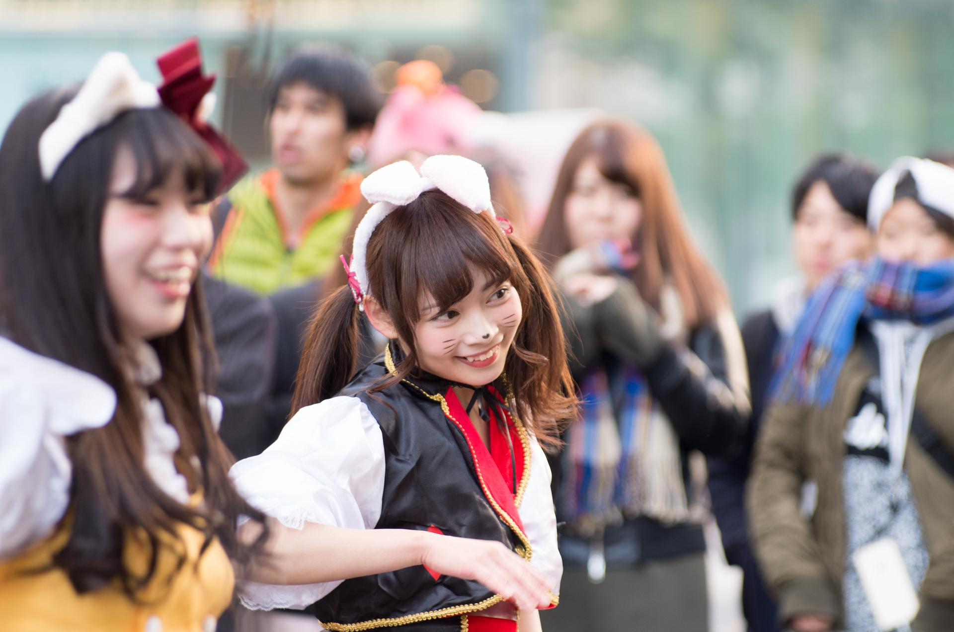 2代目HAPPY少女♪ ゆいな ( 宮崎ゆいな )   さっぽろハロウィン2016