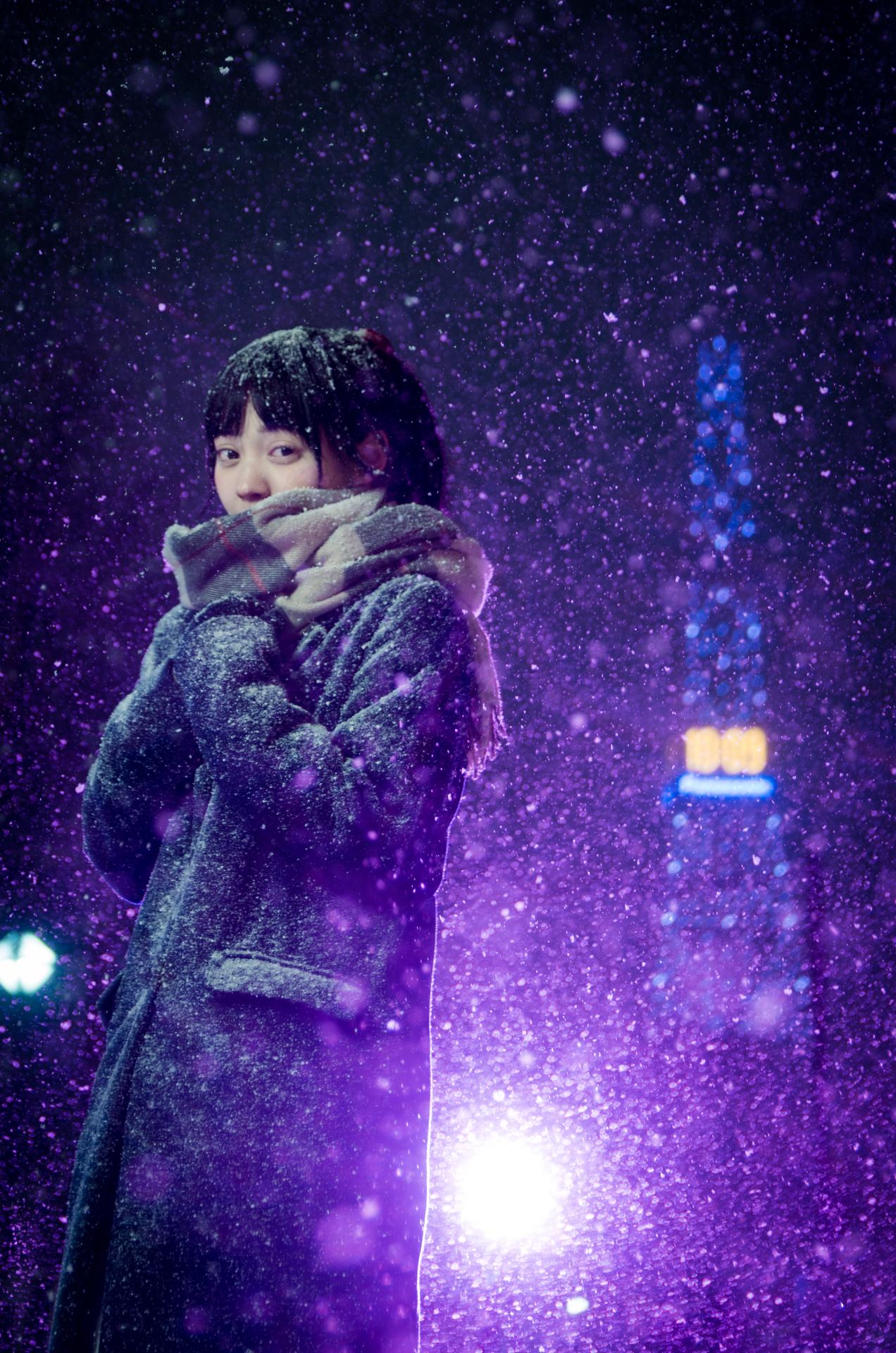2代目HAPPY少女♪ ゆいな ( 宮崎ゆいな ) | 大通公園イルミネーション撮影会