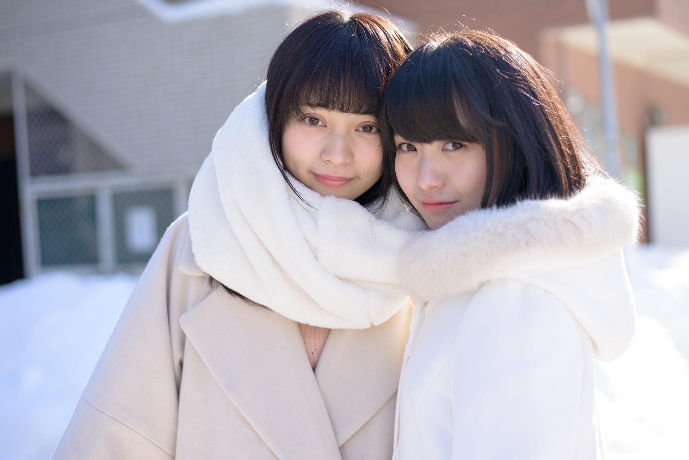 2代目HAPPY少女 ゆいな ( 宮崎ゆいな ) & みっちょ ( 本田みく )