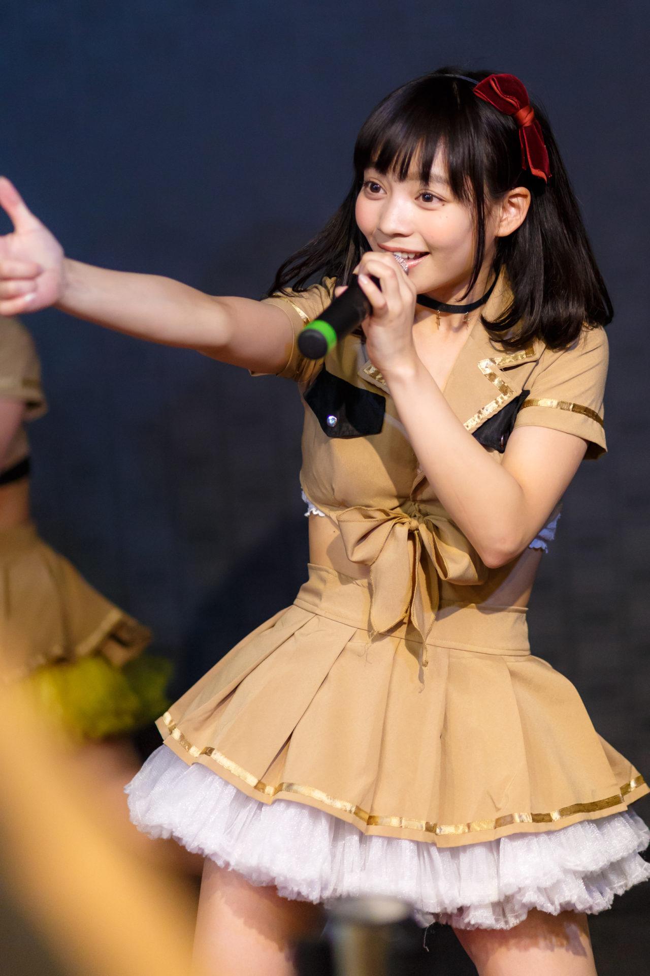 2代目HAPPY少女♪ ゆいな ( 宮崎ゆいな )   自遊空間×フルーティー マンスリーライブ!