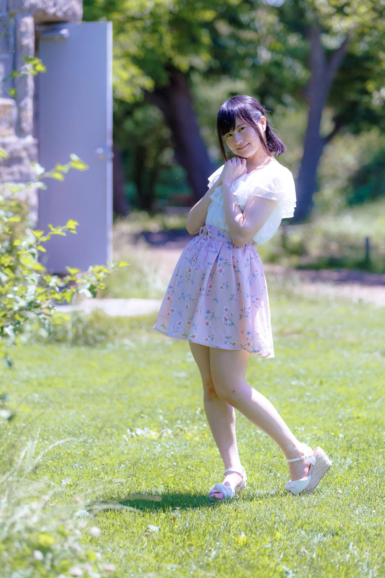 2代目HAPPY少女♪ あゆみ ( 新谷亜由美 ) | モデルプロ撮影会 in 百合が原公園