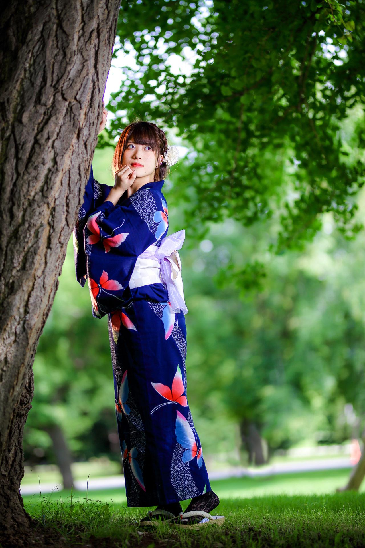 フルーティー♡ さい ( 北出彩 ) | モデルプロ浴衣撮影会