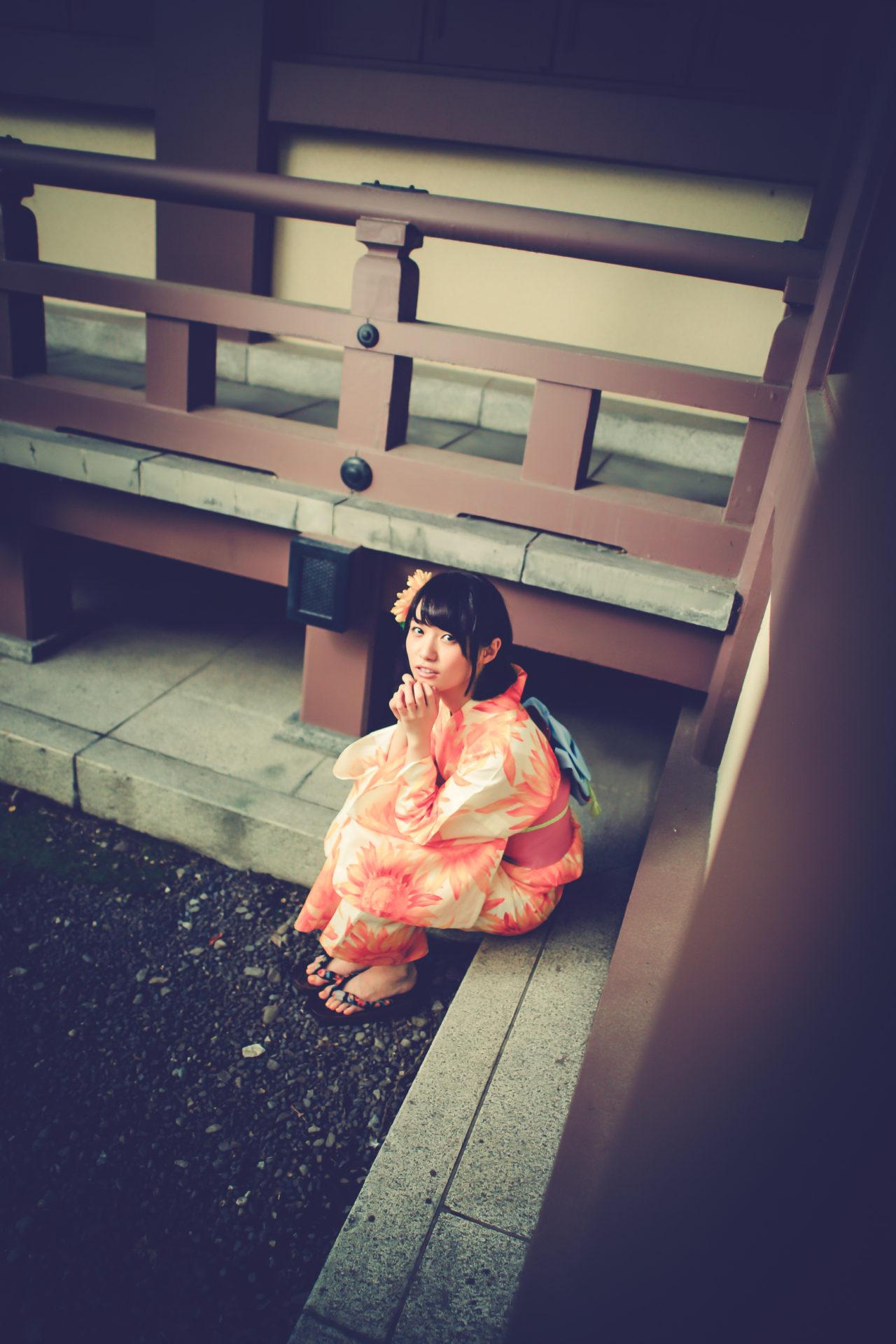 2代目HAPPY少女♪ みっちょ ( 本田みく ) | モデルプロ浴衣撮影会