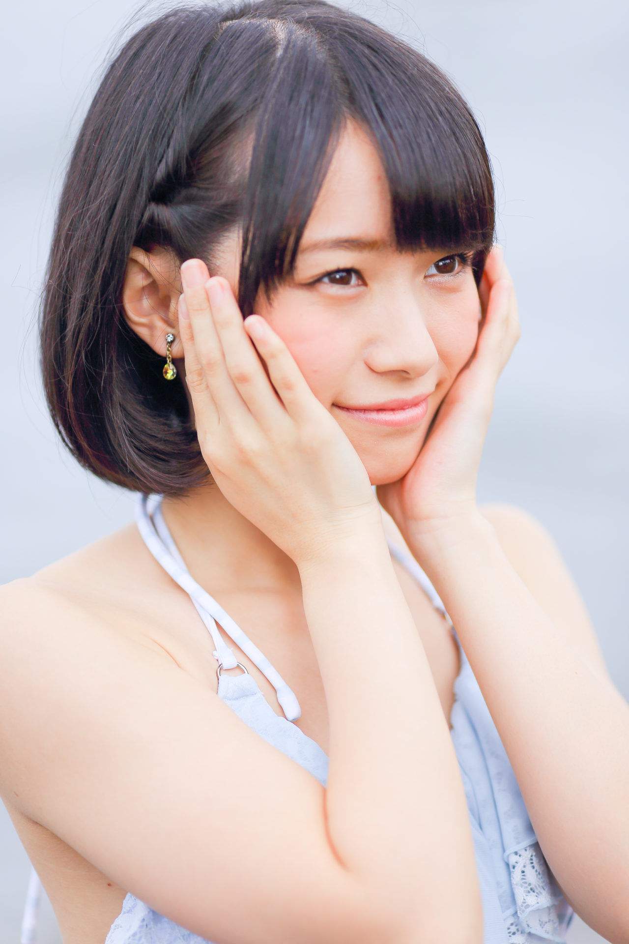 2代目HAPPY少女♪ みっちょ ( 本田みく )   ライブプロ海イベント2017水着撮影会