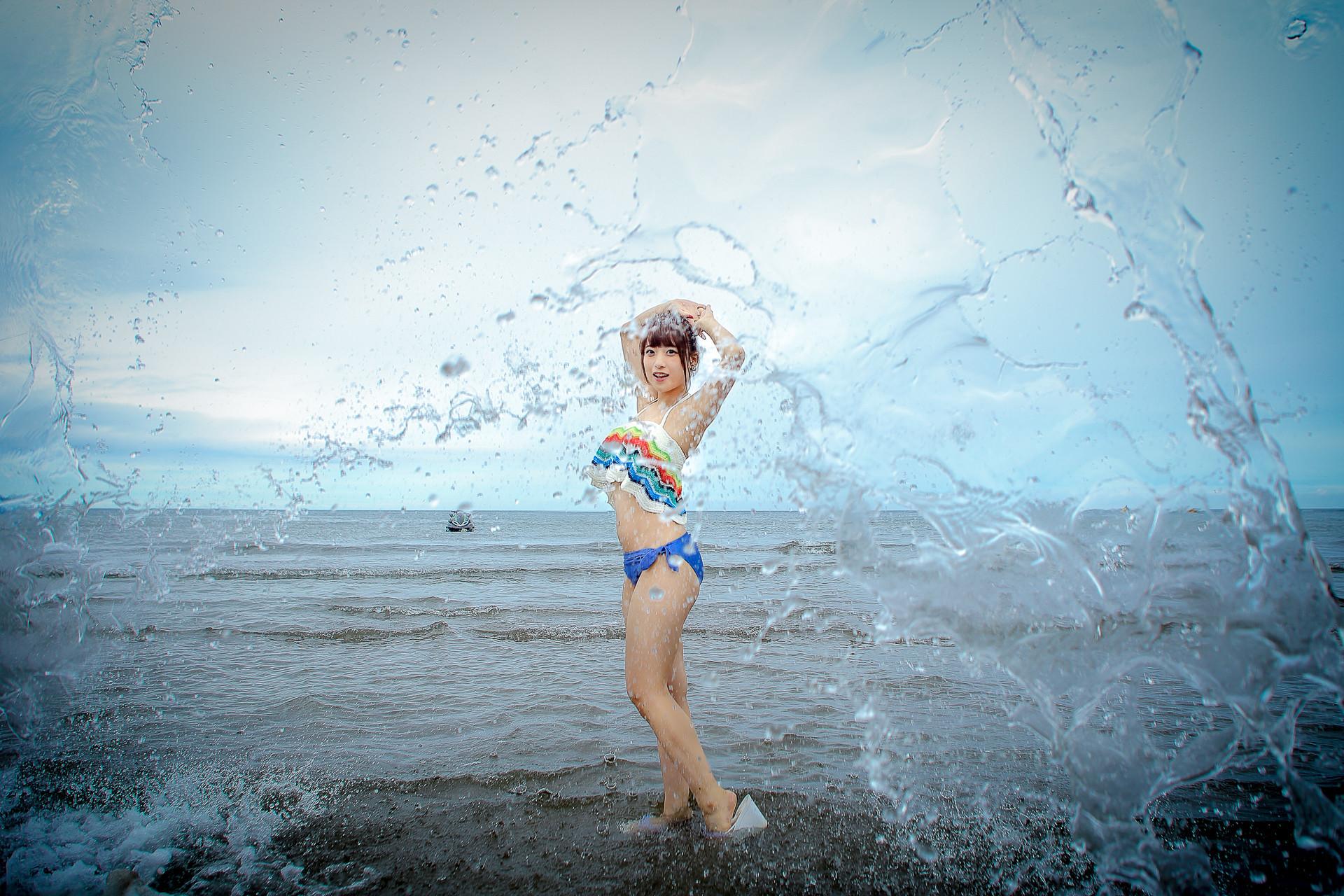 フルーティー♡ さい ( 北出彩 ) | ライブプロ海イベント2017水着個撮