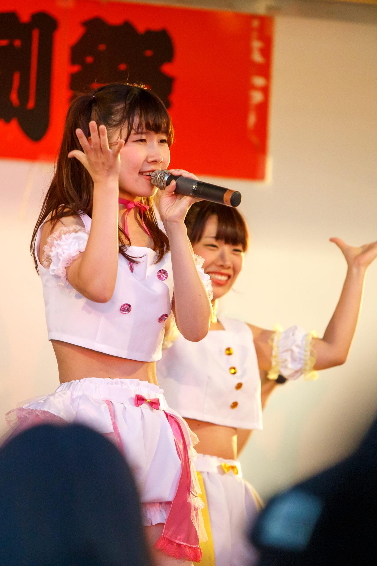 フルーティー♡ もっち ( 長久保桃子 ) | 大曲神社秋季例大祭