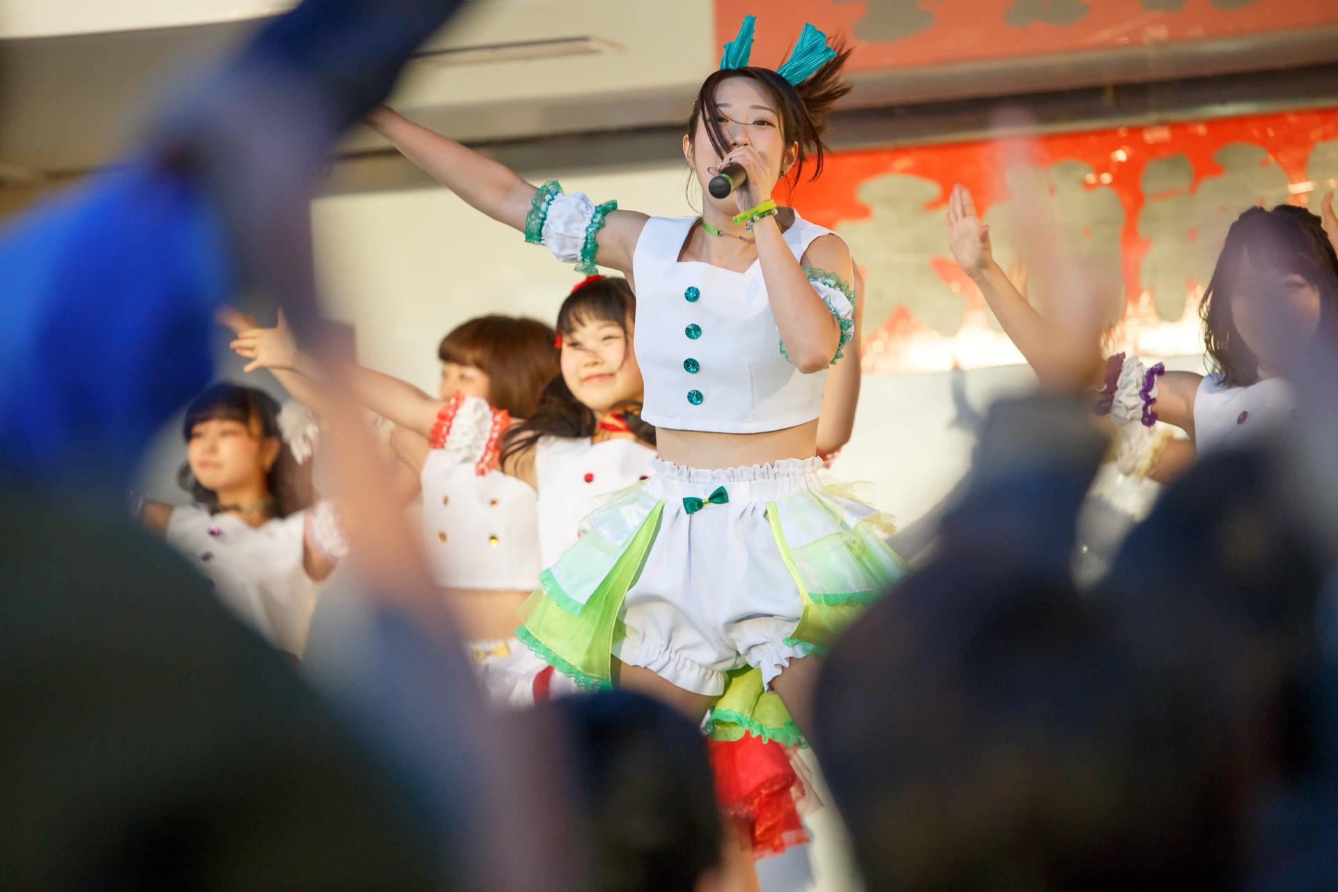 フルーティー♡ おばち ( 小原優花 ) | 大曲神社秋季例大祭