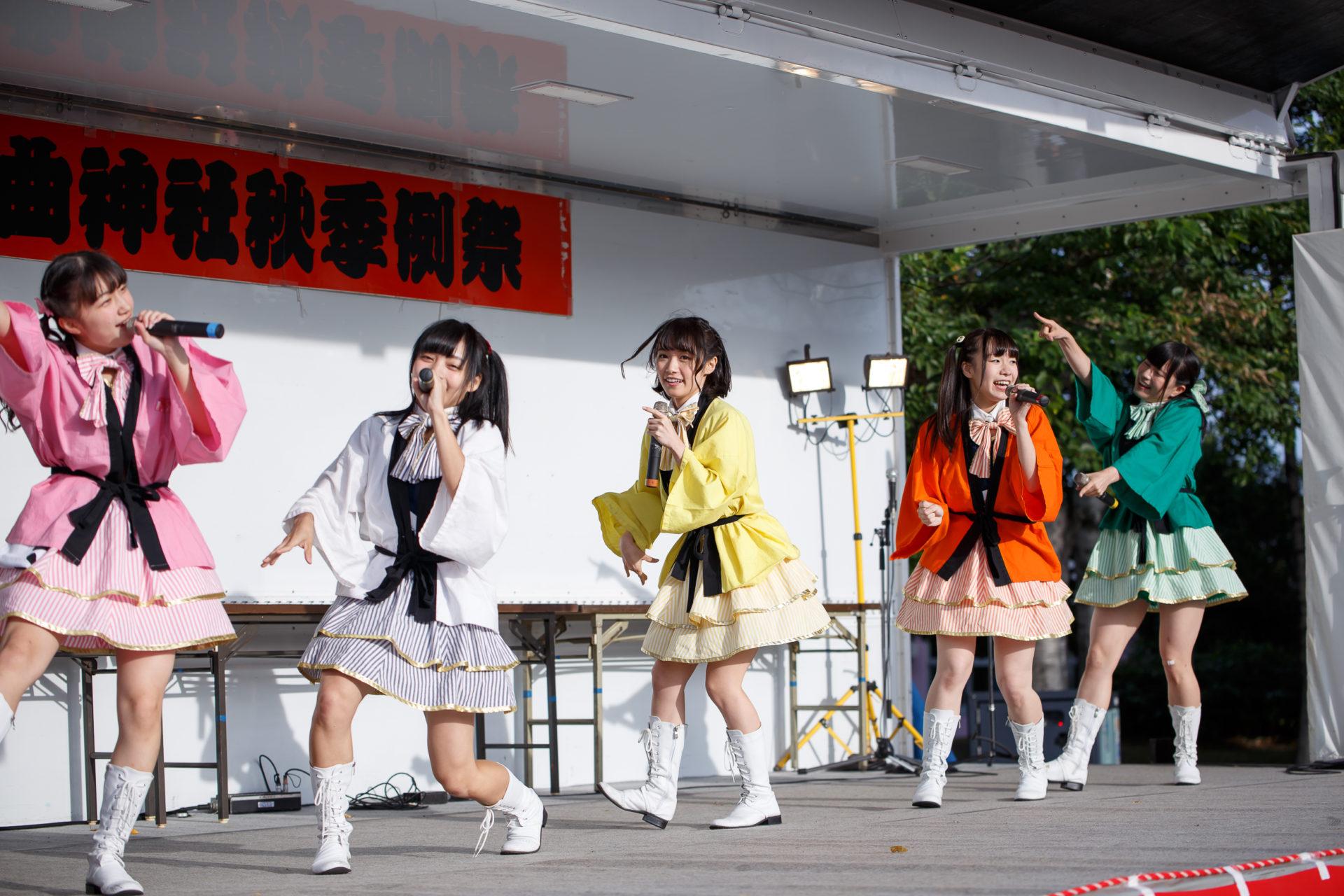 2代目HAPPY少女♪ | 大曲神社秋季例大祭