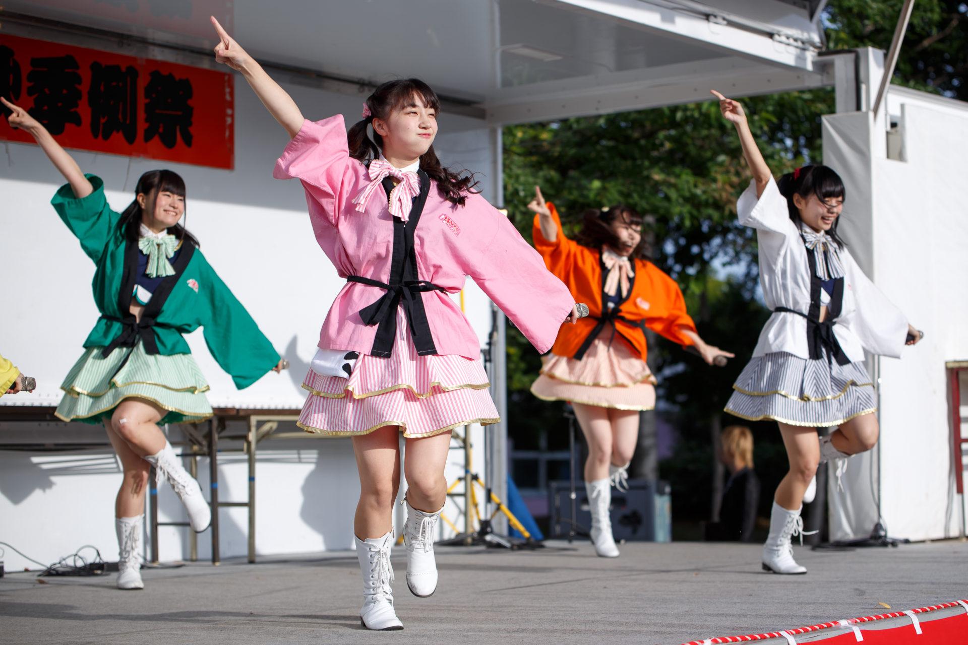 2代目HAPPY少女♪ きょうか ( 山田京佳 )   大曲神社秋季例大祭