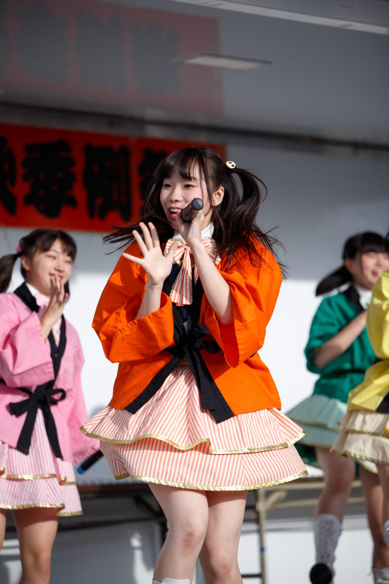 2代目HAPPY少女♪ やよたん ( 鈴木やよい ) | 大曲神社秋季例大祭