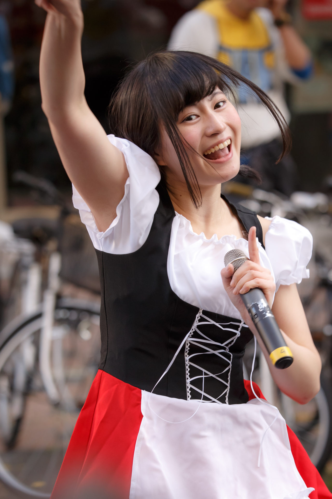 2代目HAPPY少女♪ あゆみ ( 新谷亜由美 ) | さっぽろハロウィン2017