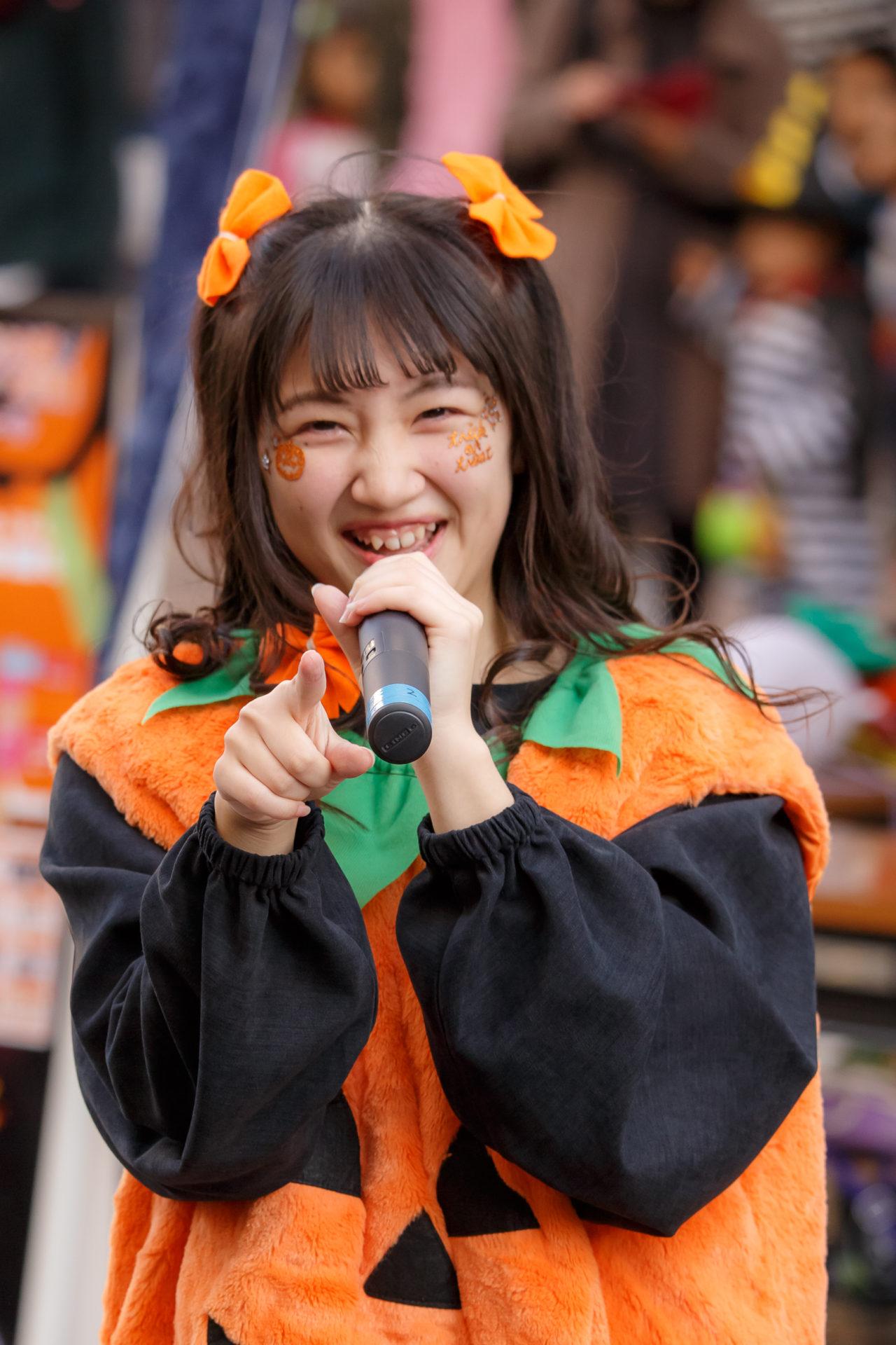 2代目HAPPY少女♪ きょうか ( 山田京佳 ) | さっぽろハロウィン2017